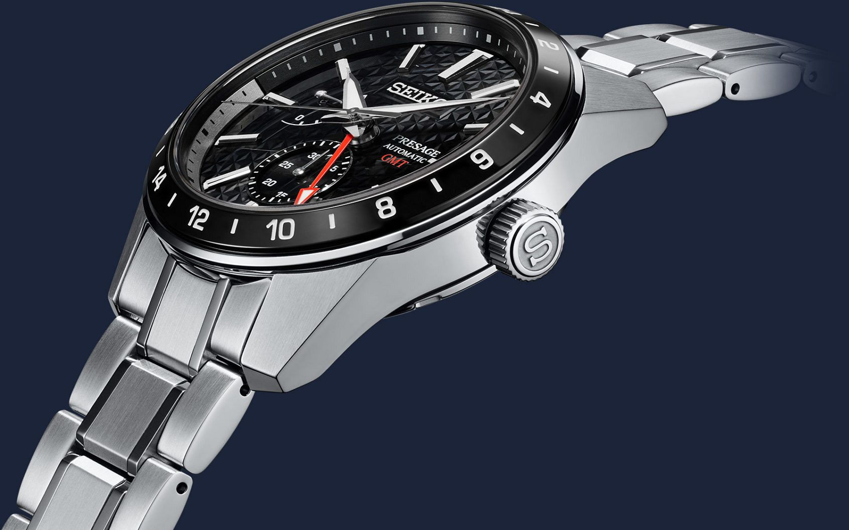 INTRODUCING: The Seiko Presage Sharp Edged GMT Collection oozes robust elegance