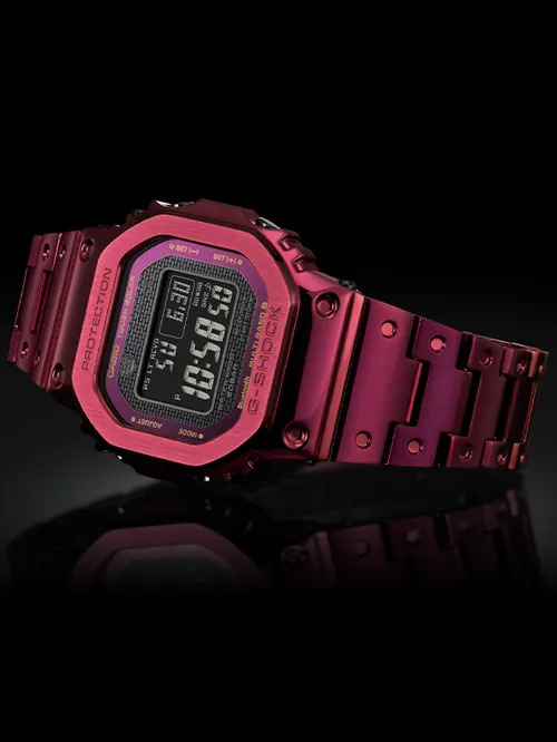 INTRODUCING: The new G-Shock Full Metal Rich Red is a colourful daily wearer for a hard-knock life