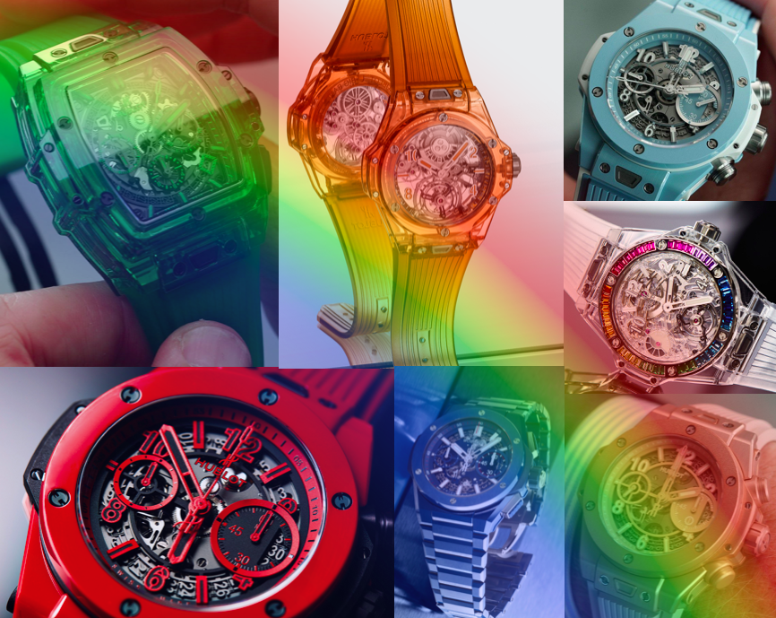 Taste the rainbow: this is how Hublot completed the spectrum with their bold range of colours