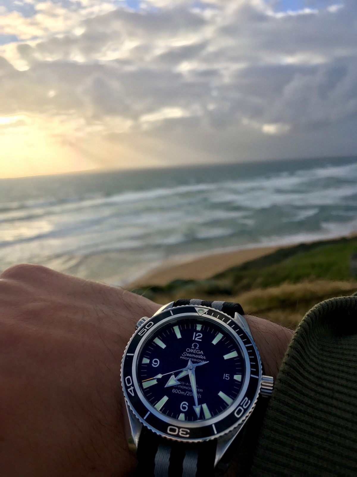 the 2008 Omega Planet Ocean continues to be the watch I wear the most