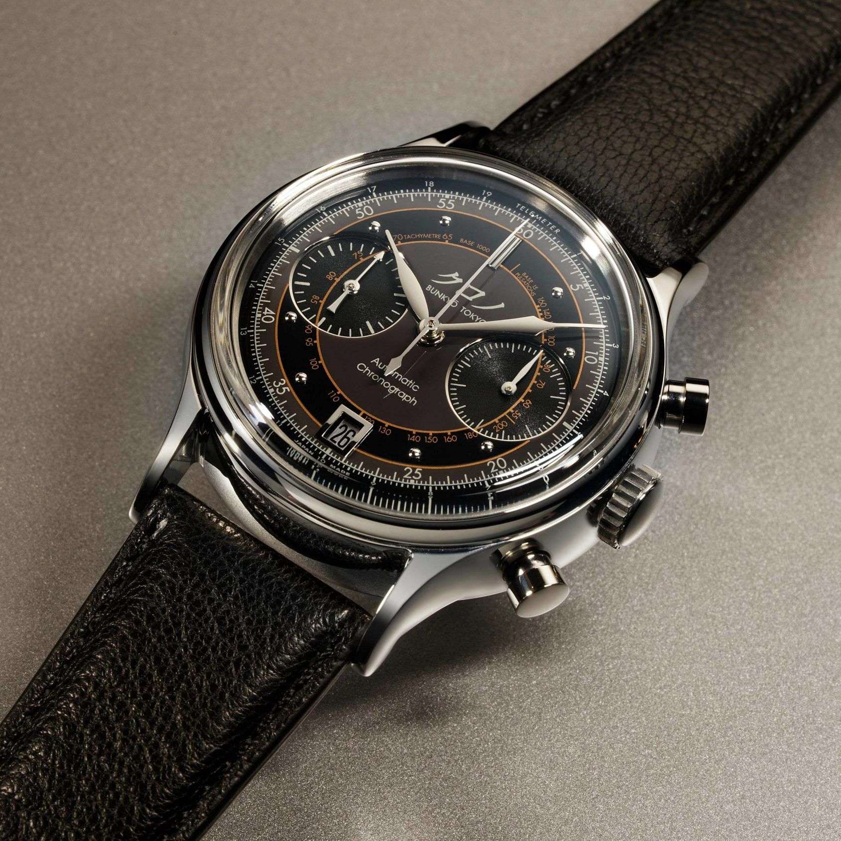 INTRODUCING: Don't miss out – the new Kurono Chronograph 2 from the cult Japanese brand will sell out fast