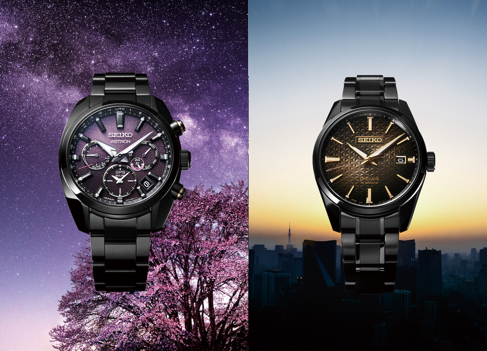 INTRODUCING:  Seiko get their 140th birthday party started with the Seiko SSH083 & SPB205