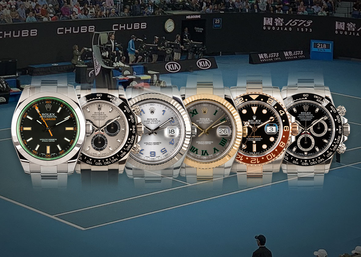 RECOMMENDED READING: Rolex spotting at the Australian Open from Federer to Tsonga