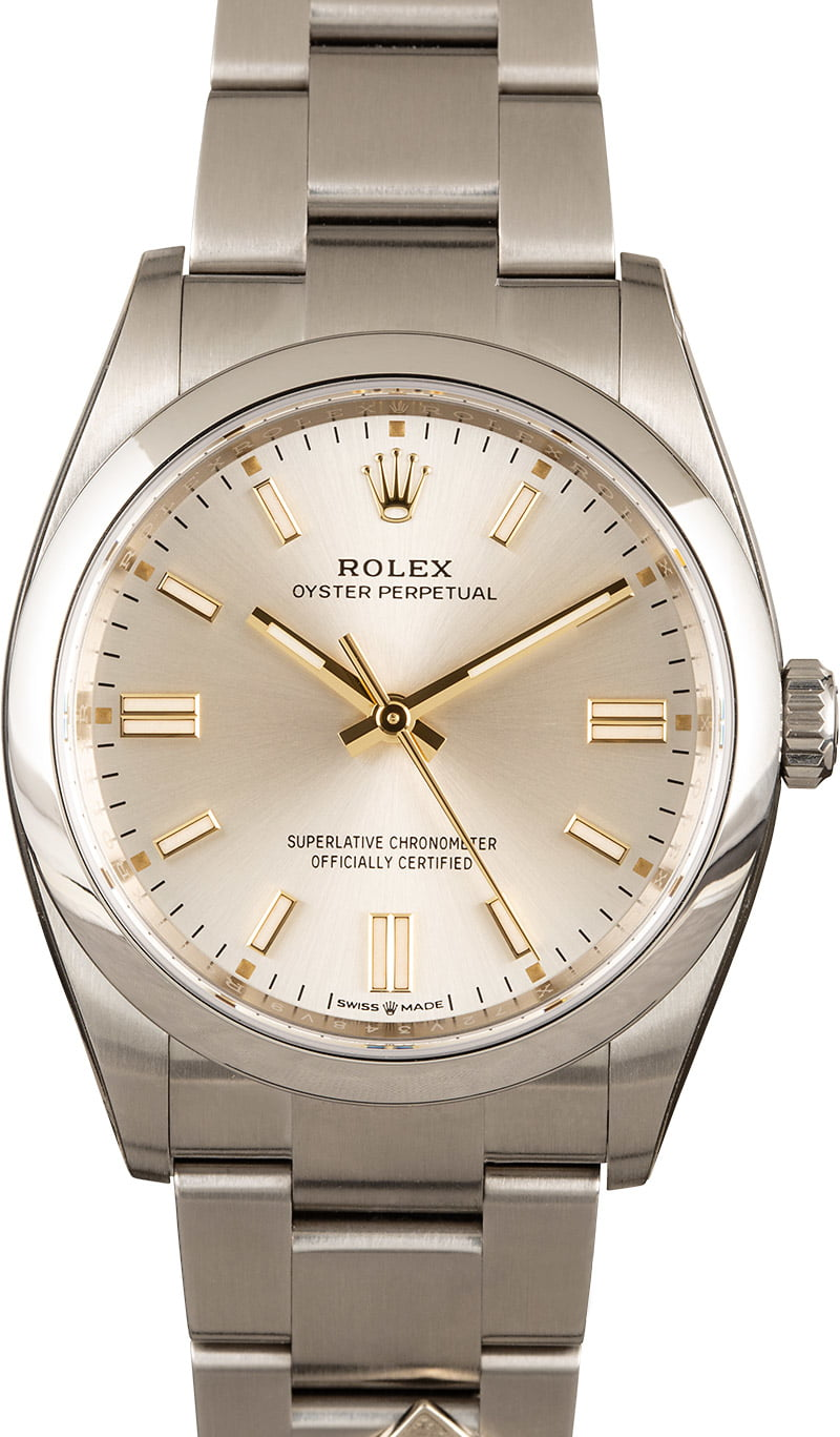 Be quick! These 'entry level' Rolex models are available to buy now (at time of posting)