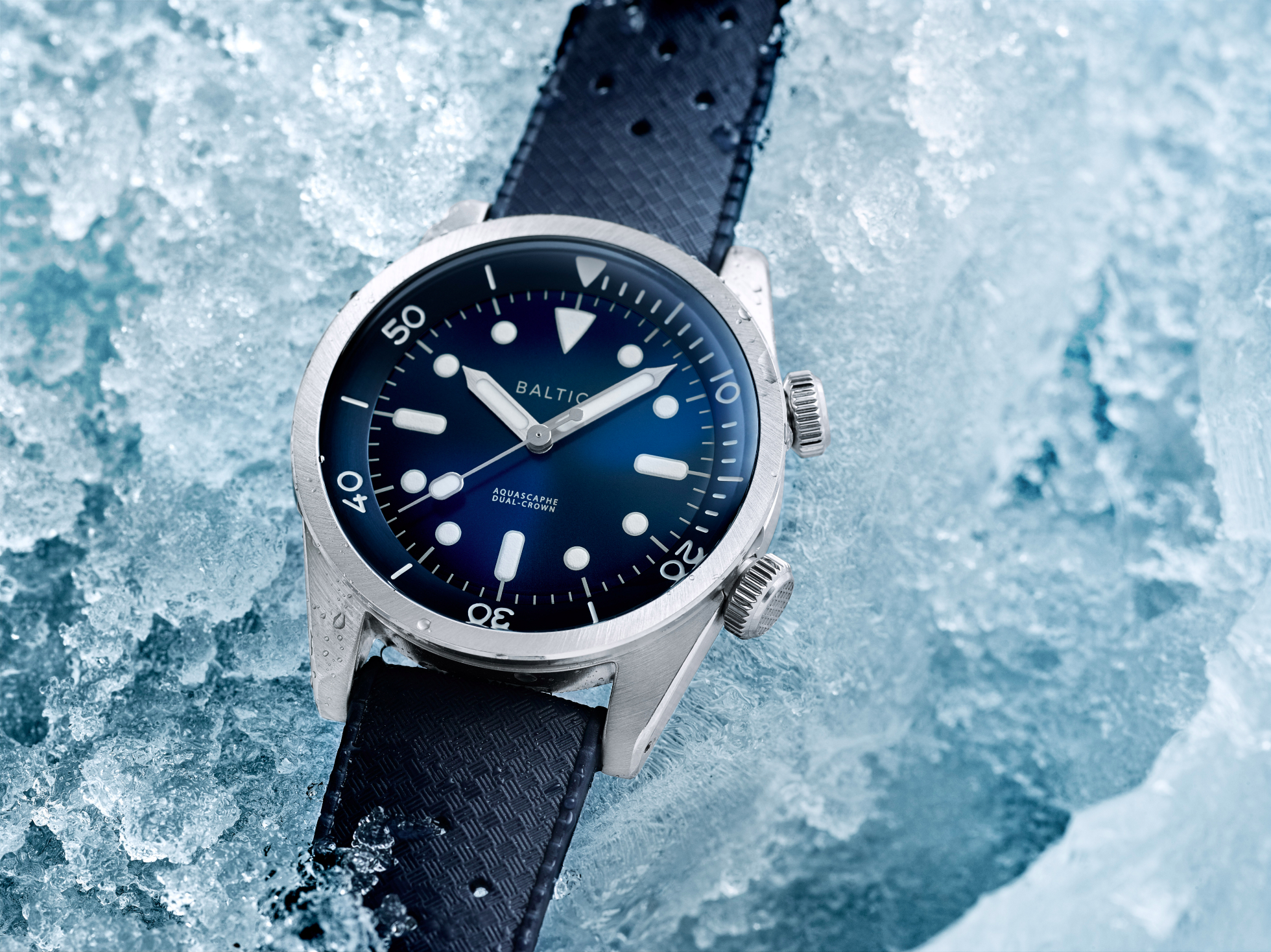 Baltic Aquascaphe Dual Crown offers a fresh take on the compressor