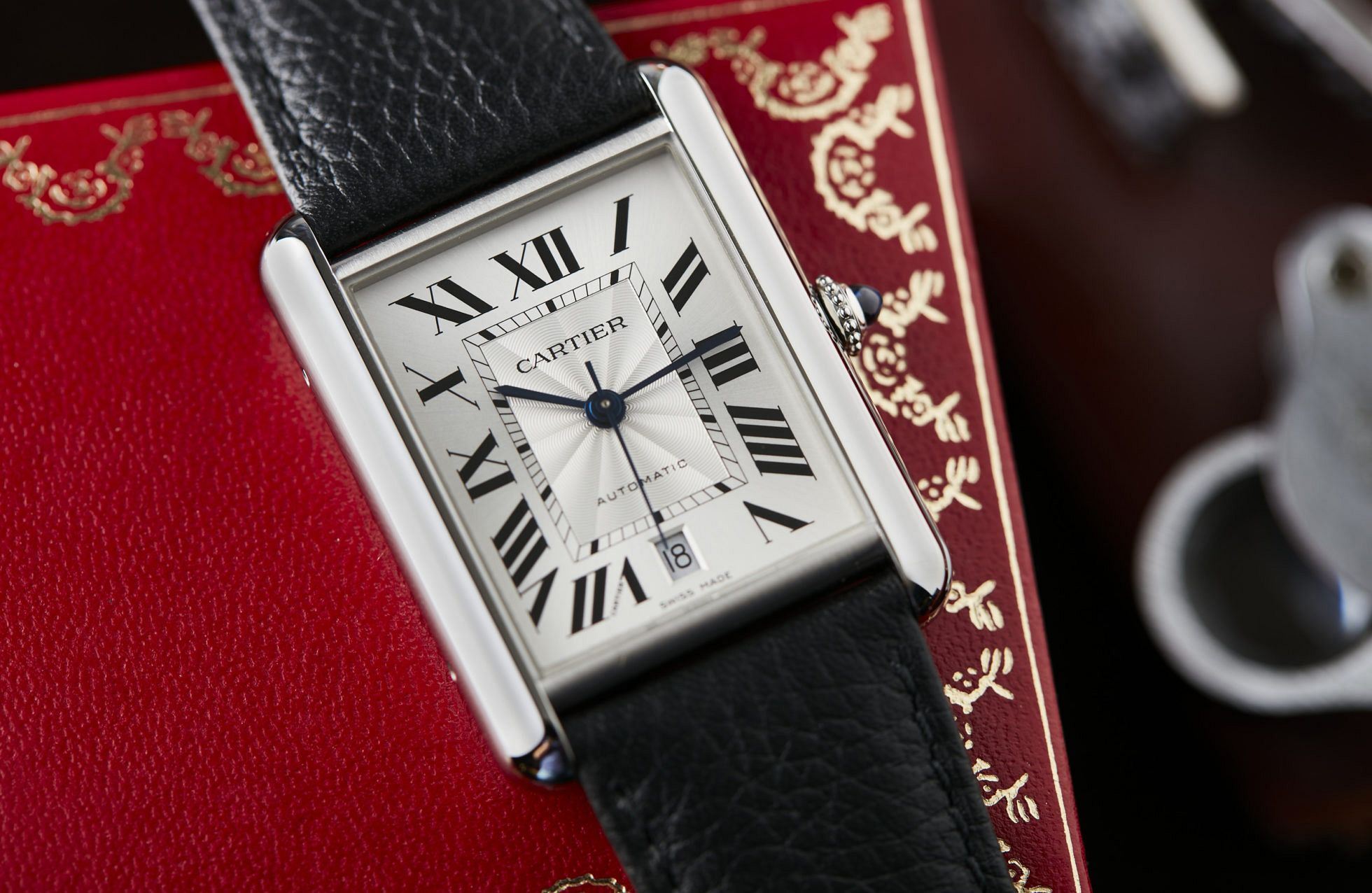 The new adventures of the Cartier Tank include a solar-powered watch