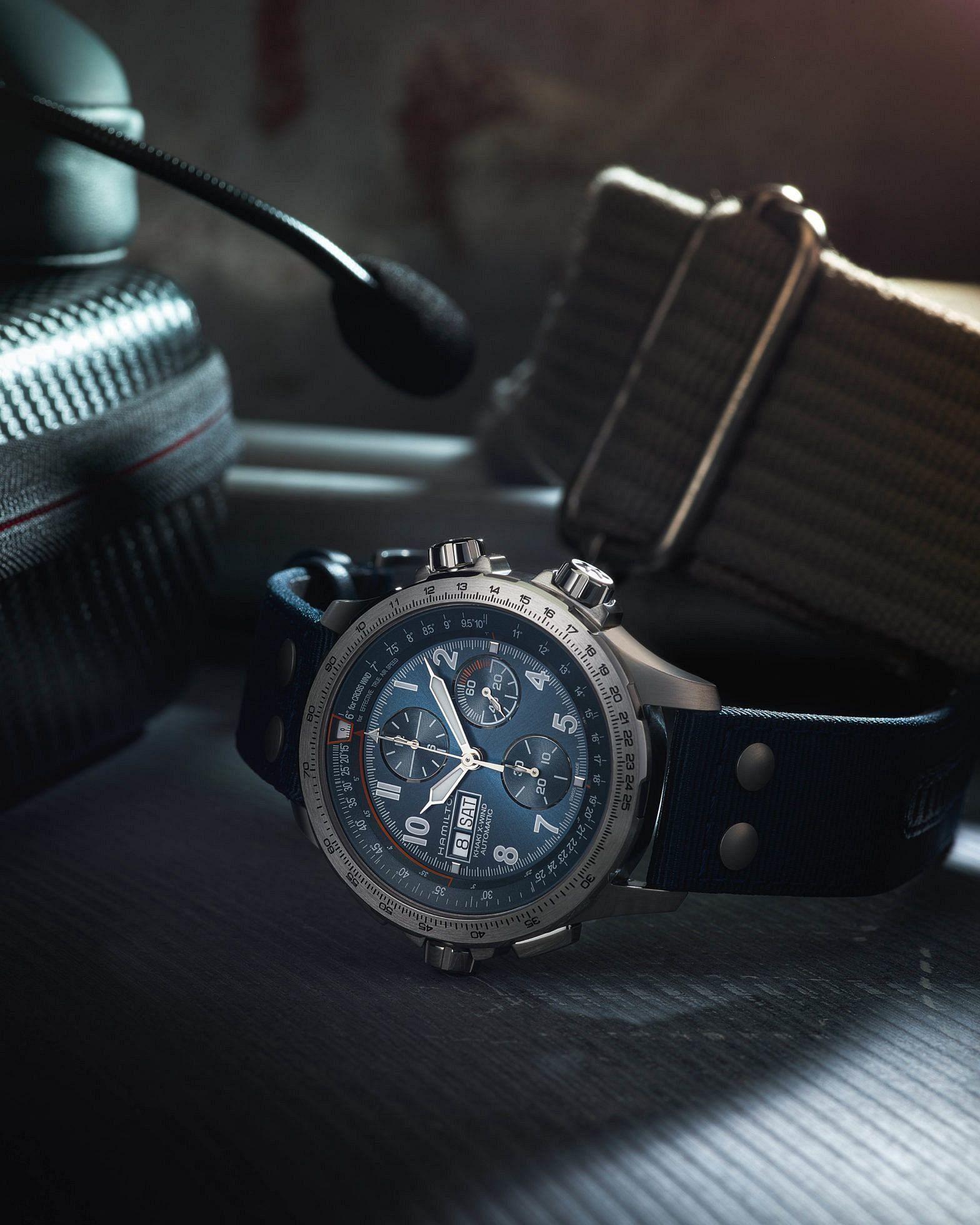 Hamilton Khaki X-Wind camouflage dials