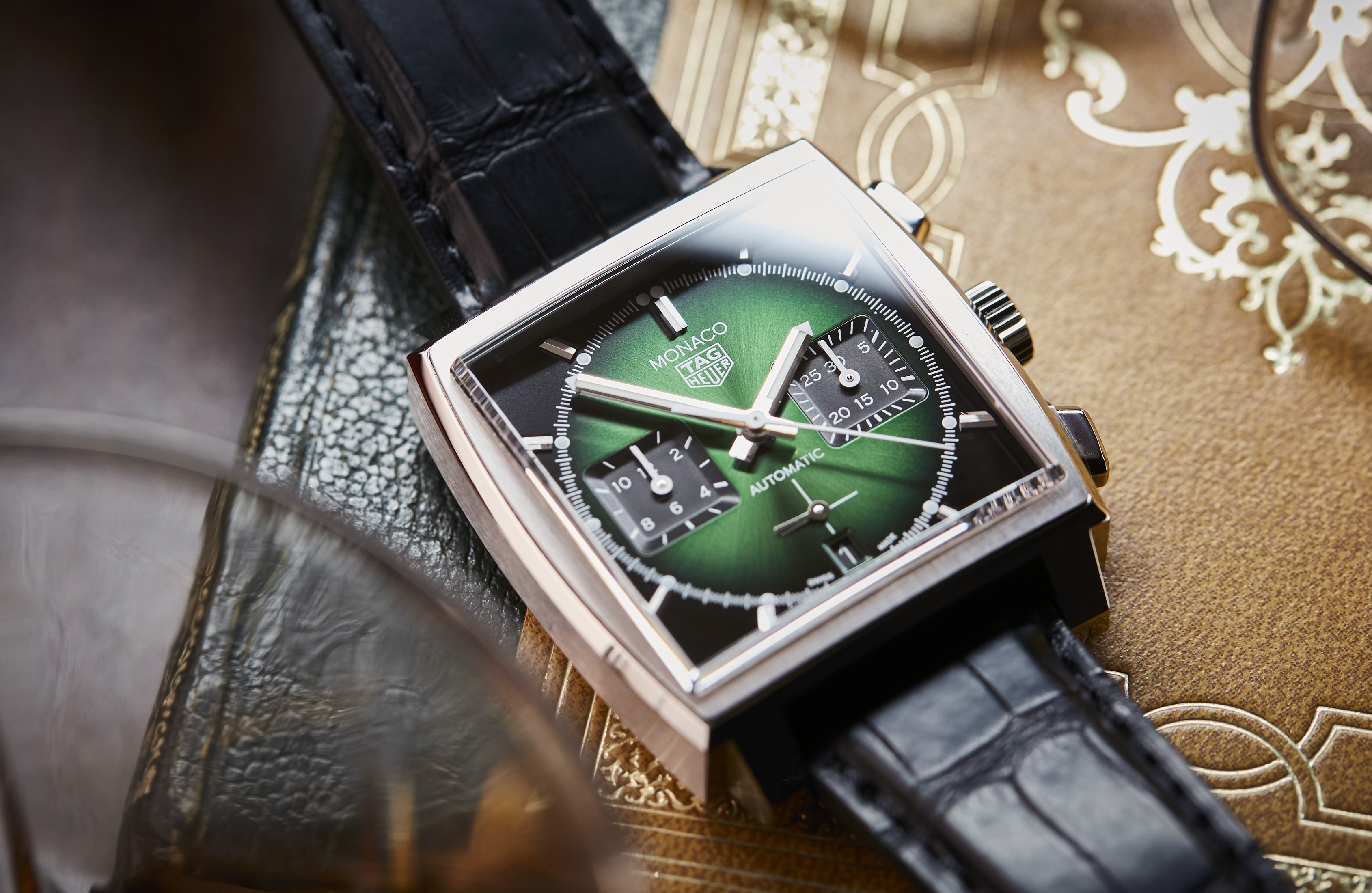 TAG Heuer Monaco Green Limited Edition