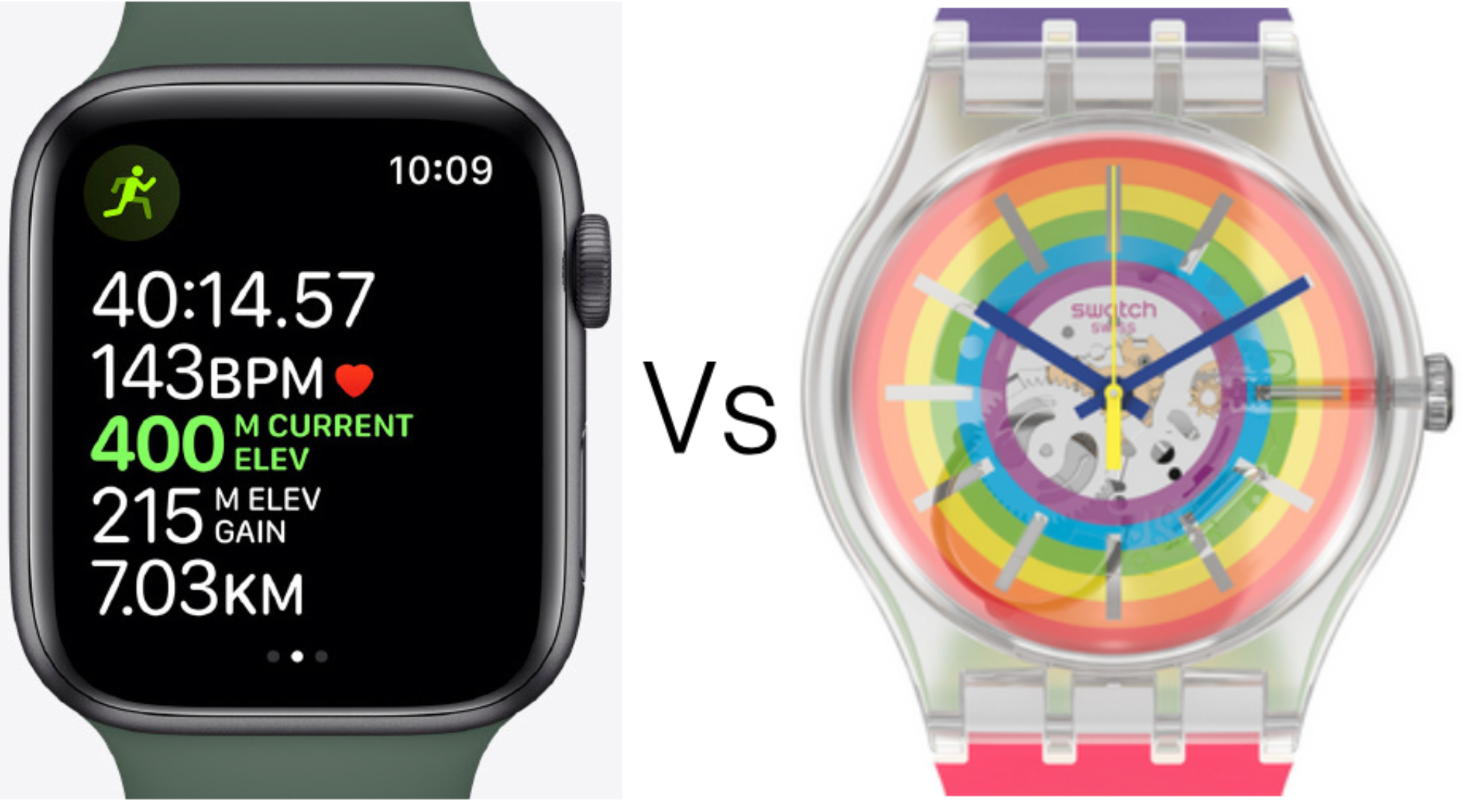 Fight, fight, fight: Why Apple and Swatch hate each other