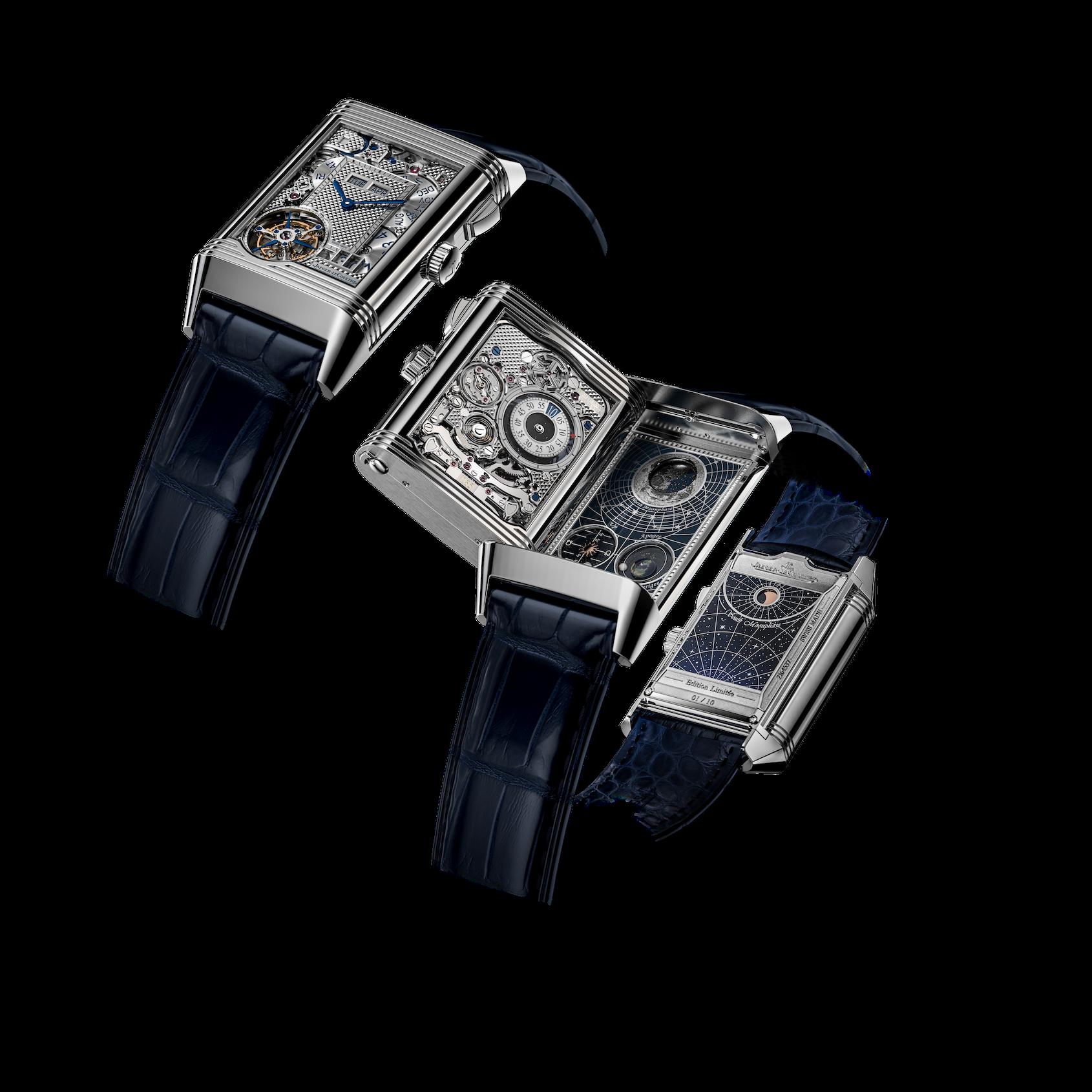 Jaeger-LeCoultre Reverso Hybris Mechanica Calibre 185 (Quadriptyque)