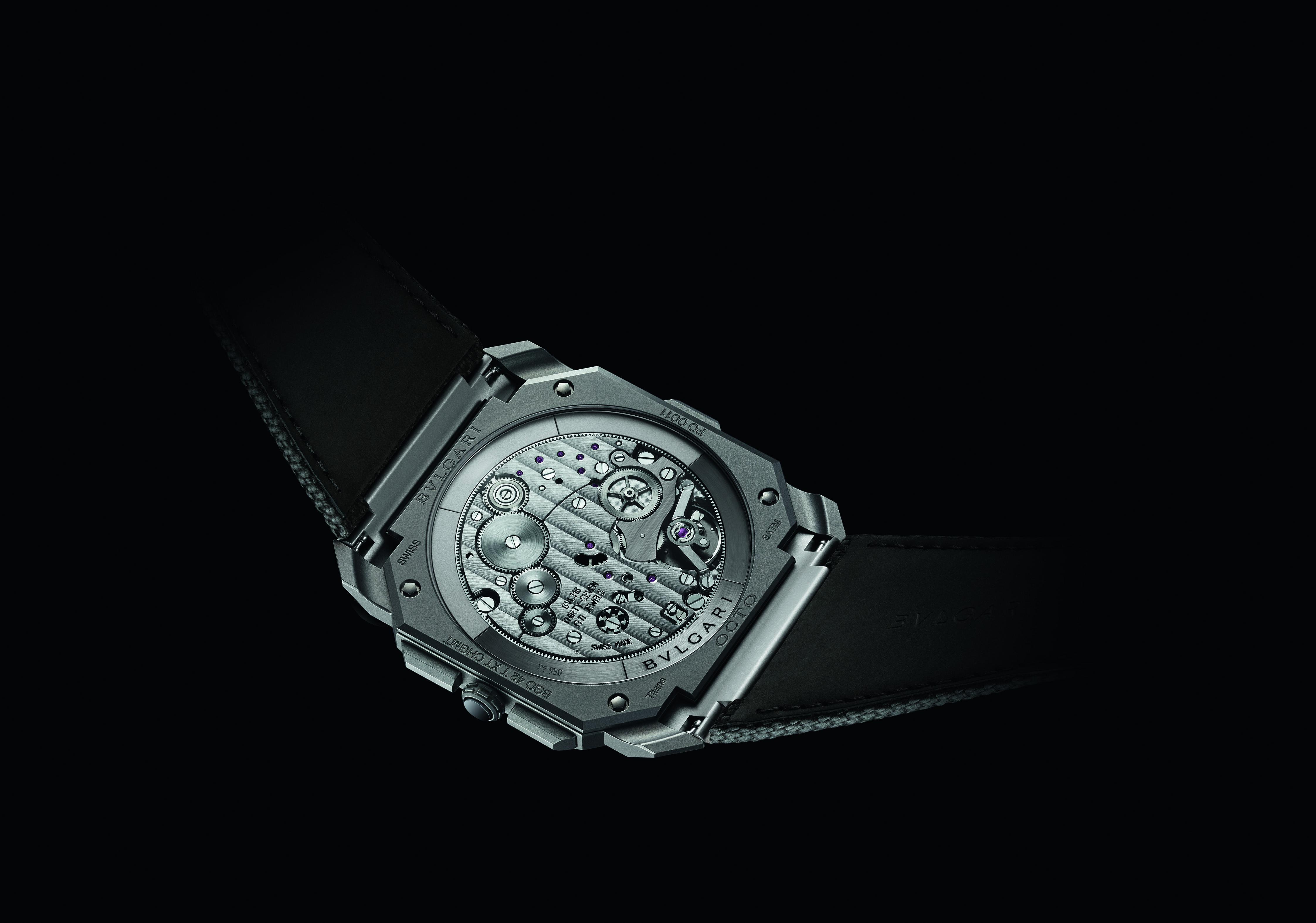Bulgari Octo Finissimo Titanium GMT Chronograph louis vuitton