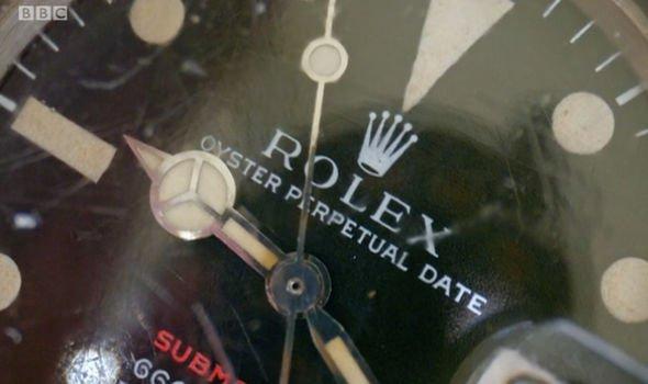 antiques roadshow rolex submariner