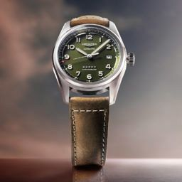 Longines Spirit green dial