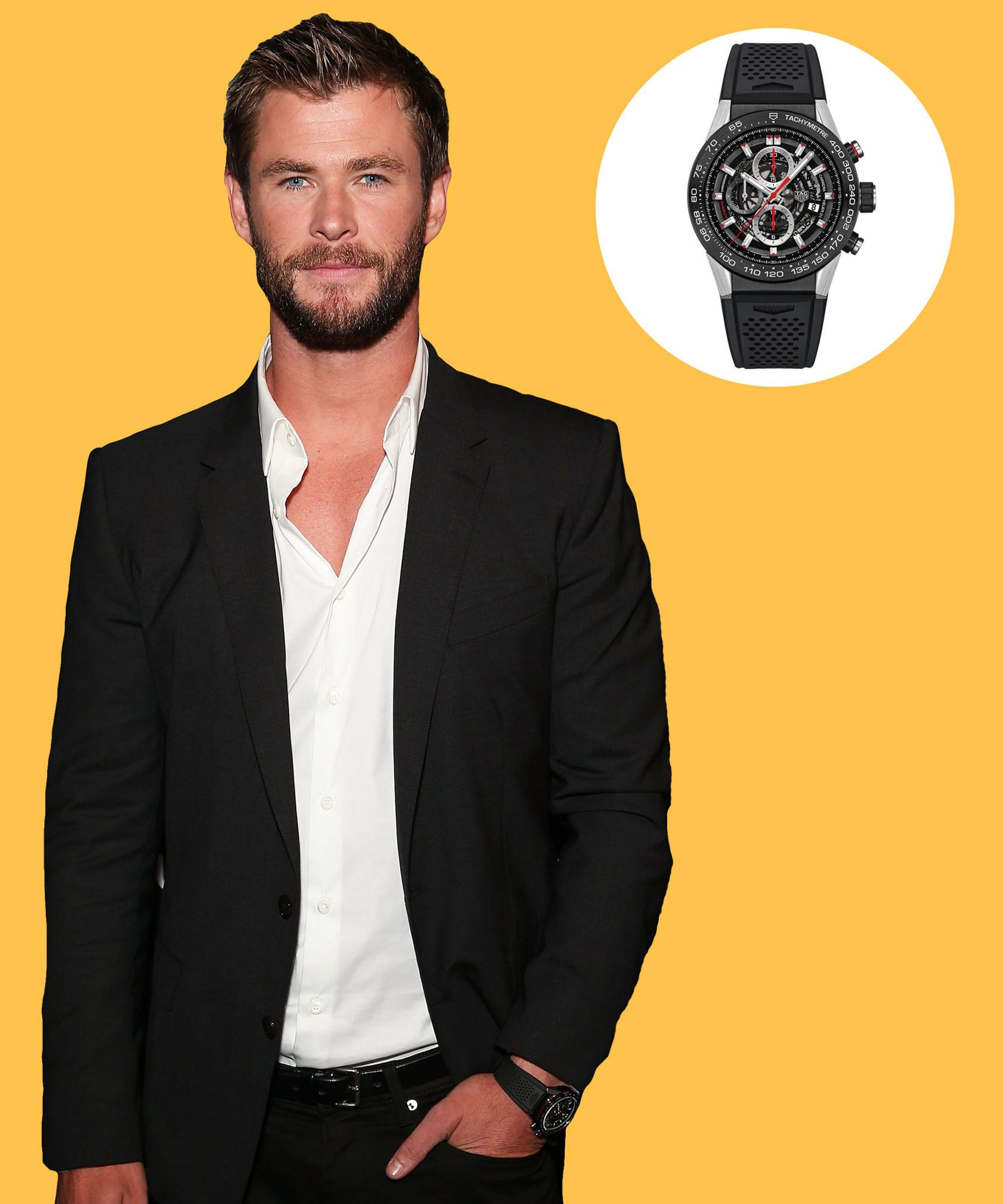 how celebrities wear their watches