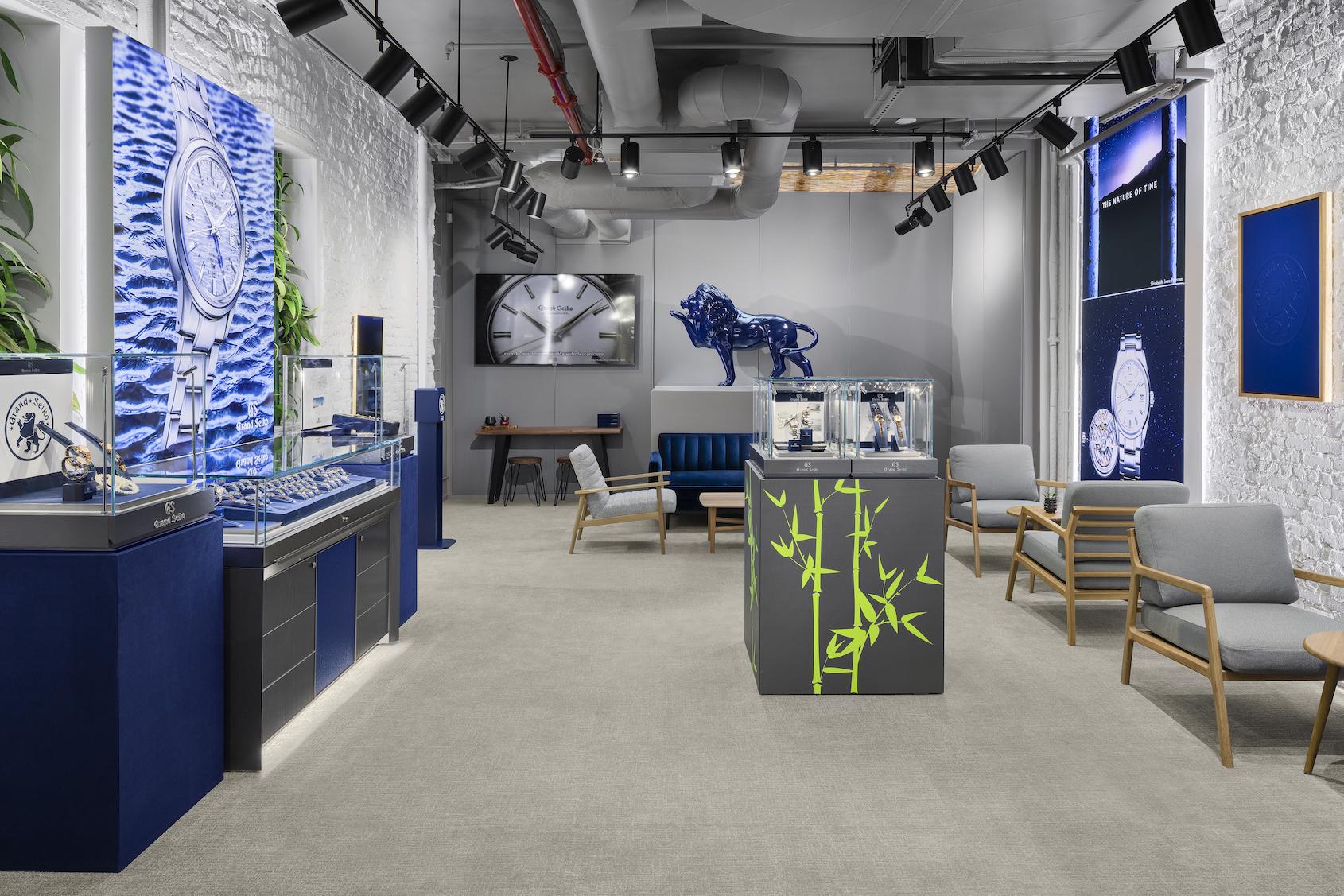 new Grand Seiko boutique