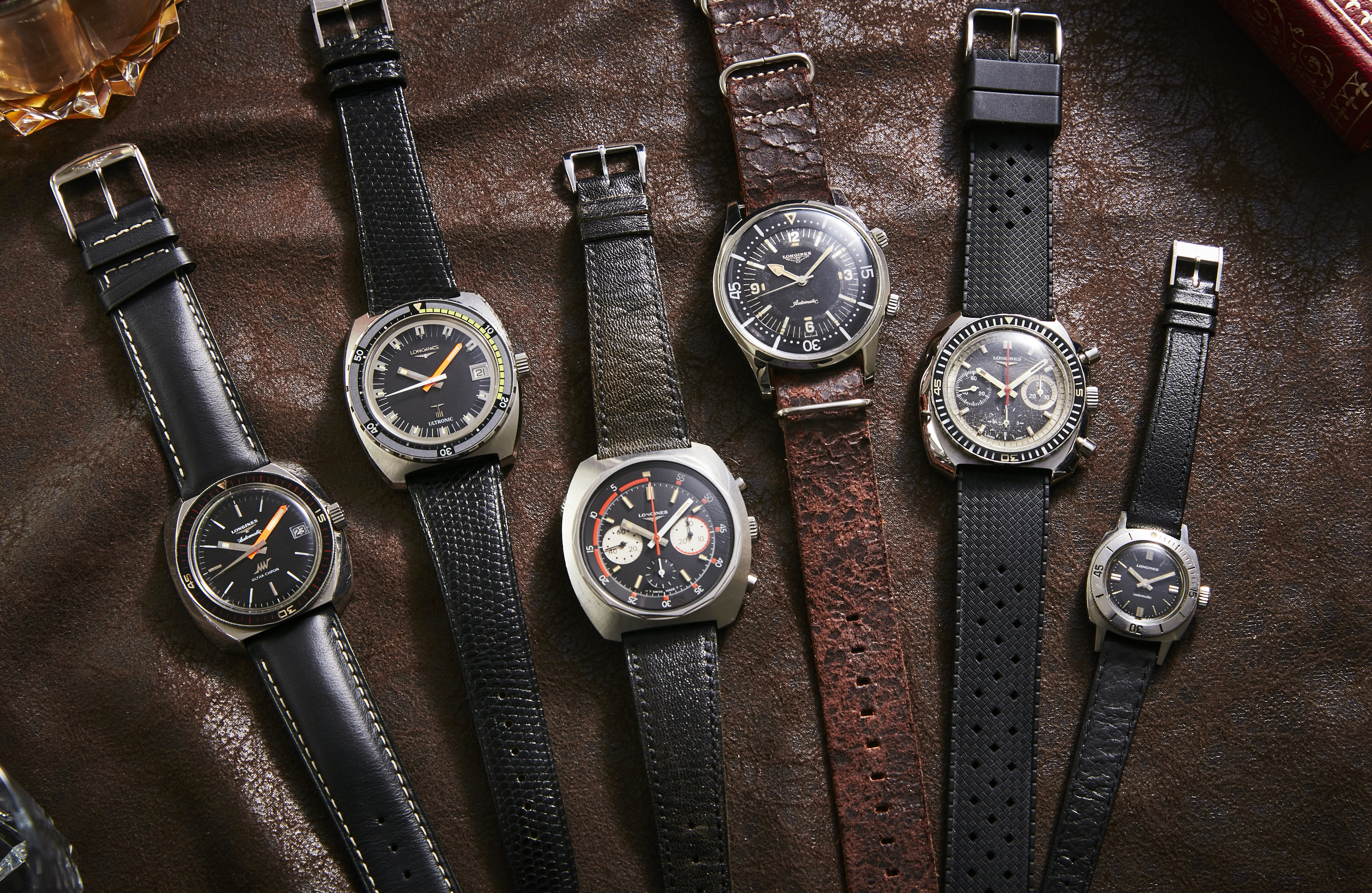 history of Longines dive watches
