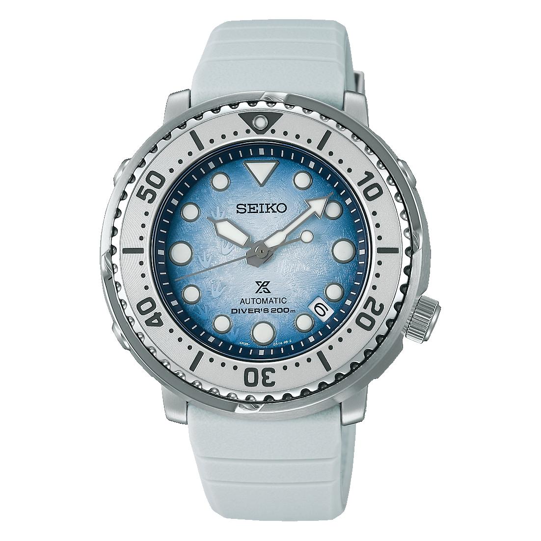 "Seiko Prospex Save The Ocean Special Edition Diver's ""Antarctica"""