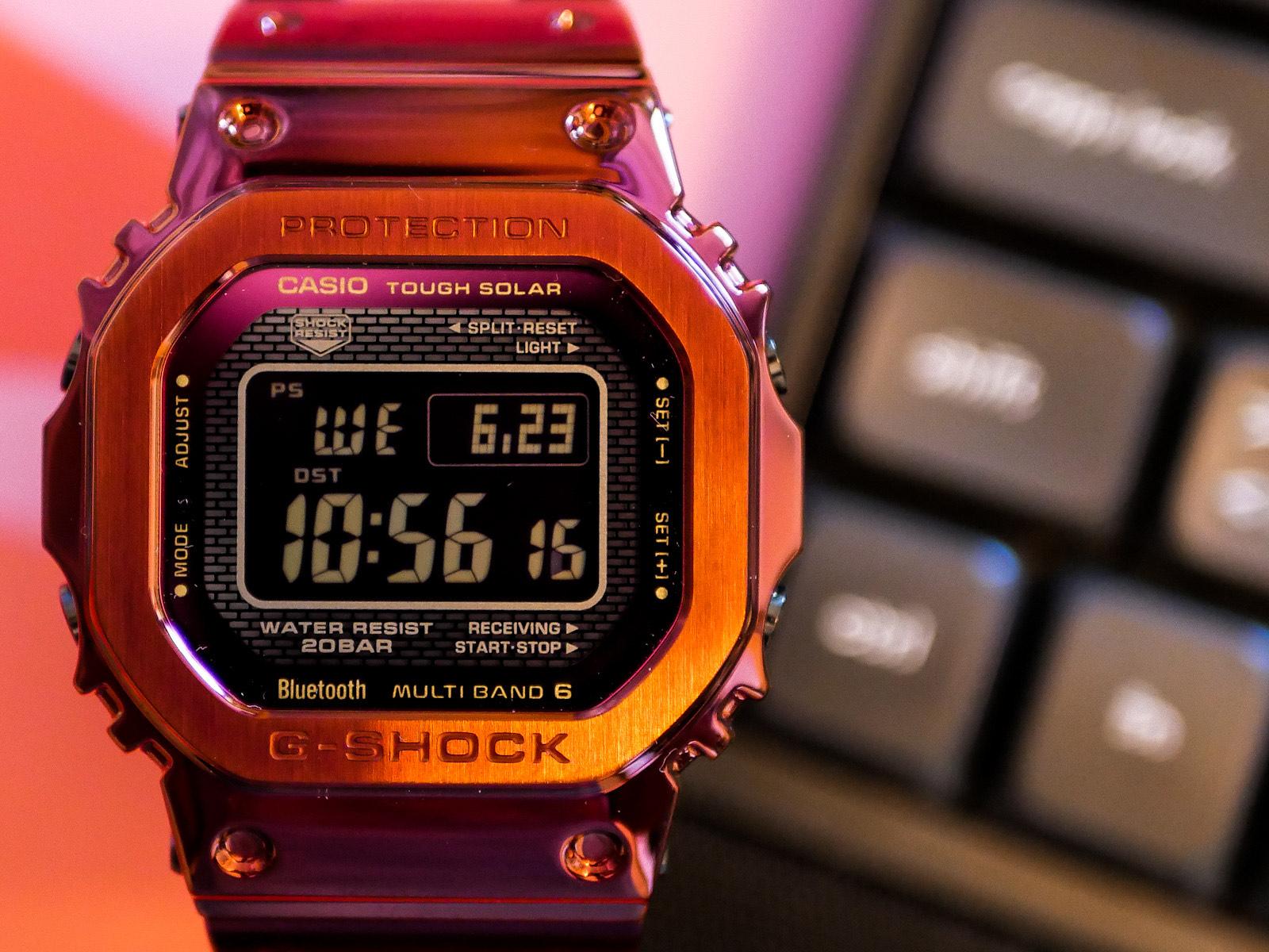 purple G-Shock
