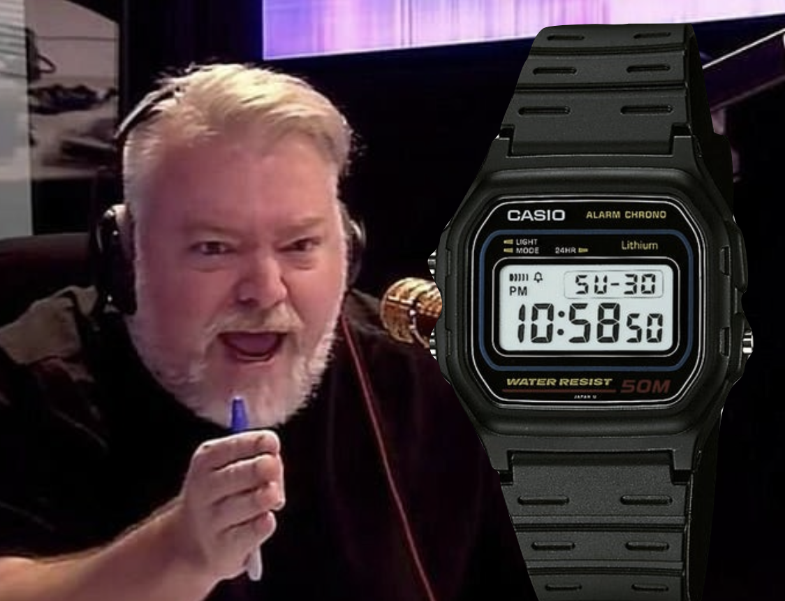 Radio host throws birthday gift watch into the ocean