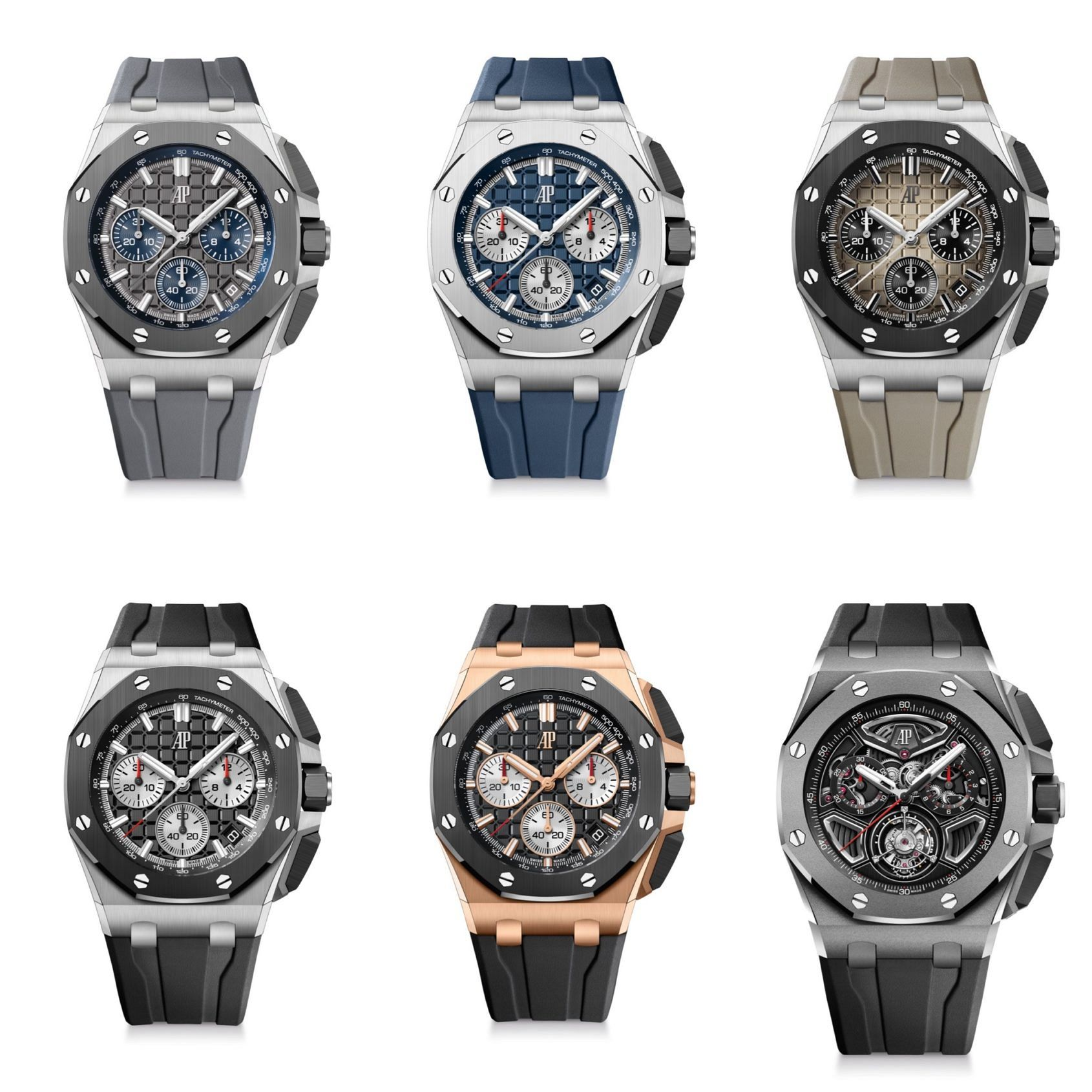 INTRODUCING: The Audemars Piguet Royal Oak Offshore 43 Flyback Chronograph & Offshore 43 Flying Tourbillon Flyback Chronograph