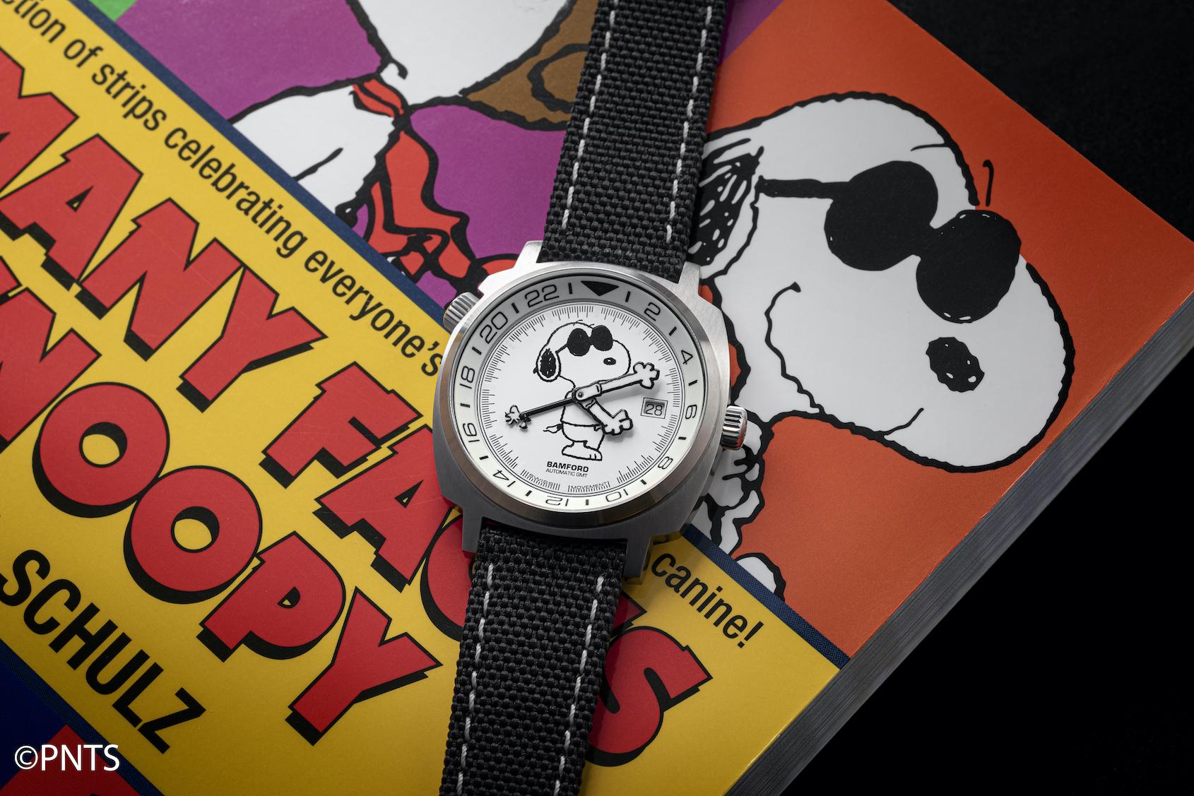 "INTRODUCING: The Rake & Revolution x Bamford London Snoopy GMT ""Joe Cool"""