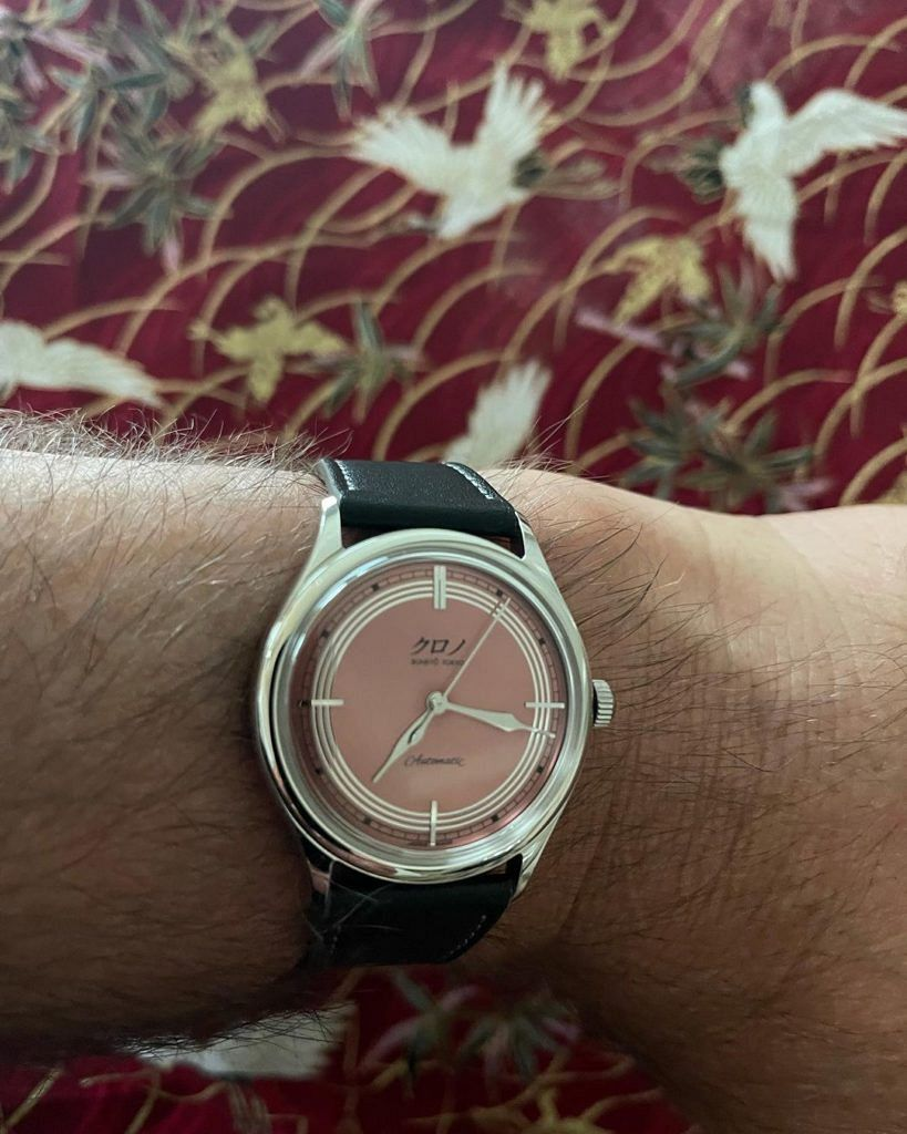 Alec Baldwin just posted the best new watch alert of the year for his Kurono Toki
