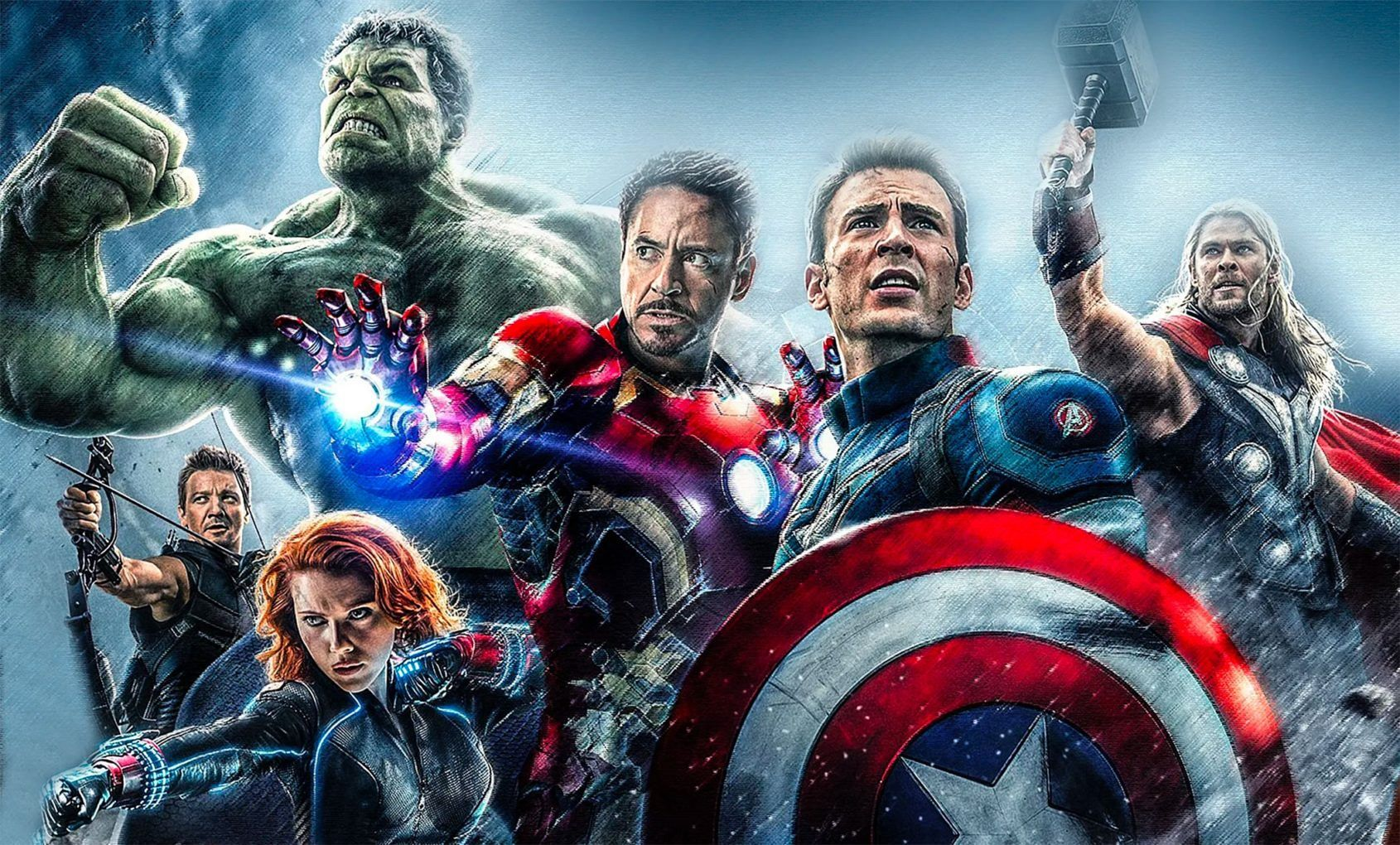 Fit for a superhero: Marvel watch spotting with the cast of The Avengers