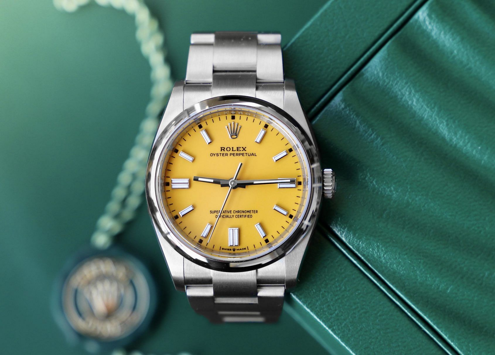 Sunshine for the wrist: The best yellow dial watches from DOXA to Hublot