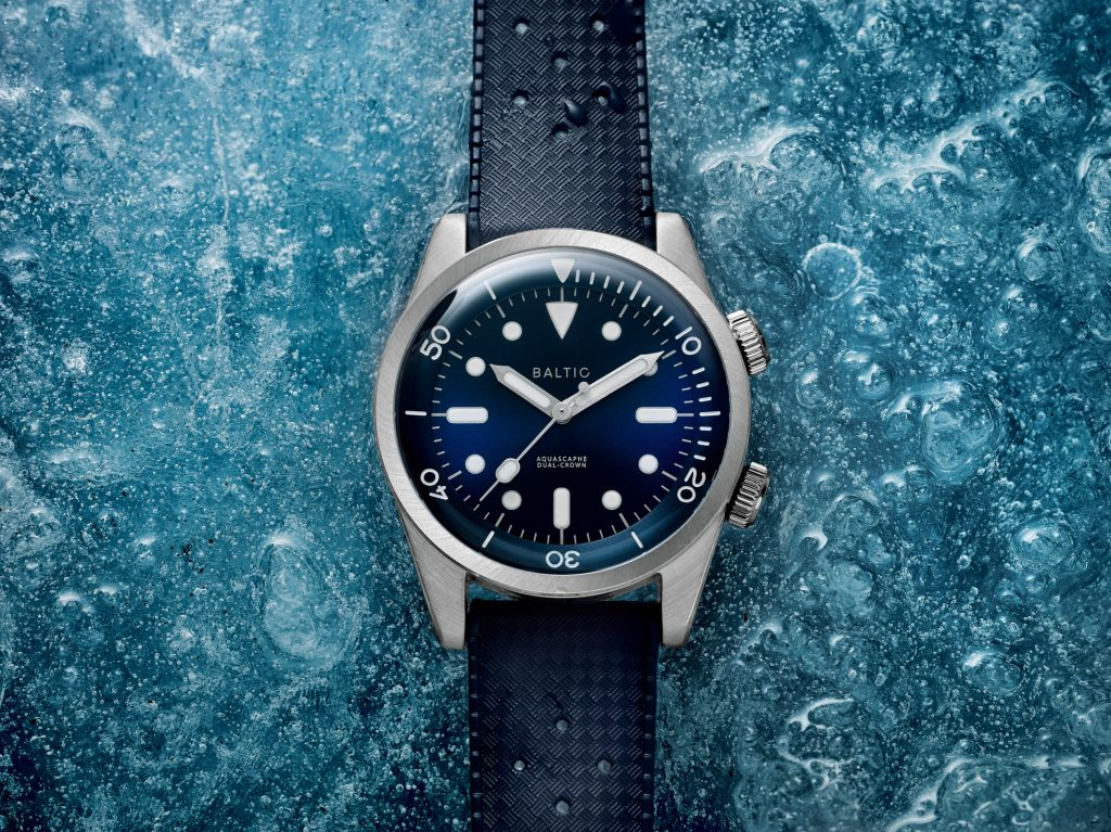 HANDS ON: The Baltic Aquascaphe Dual Crown draws from the past, but looks to the future
