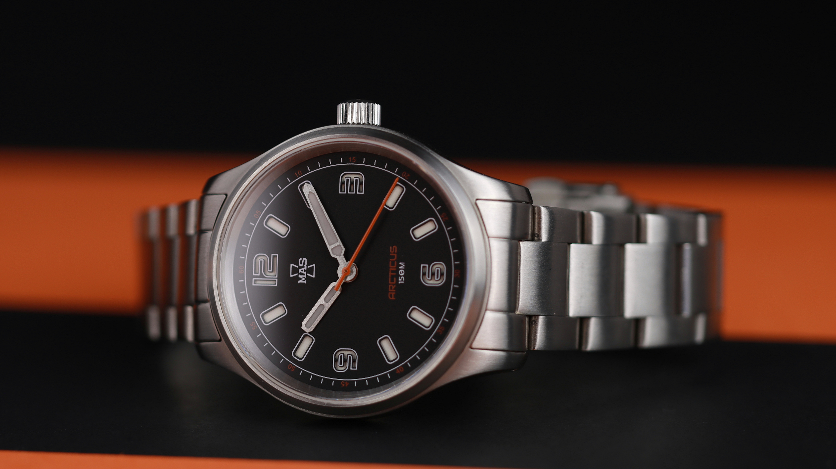 MICRO MONDAYS: Bold field watches for under $500 in the MAS Watches Arcticus range