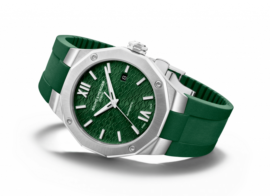 The Baume & Mercier Riviera joins the green party