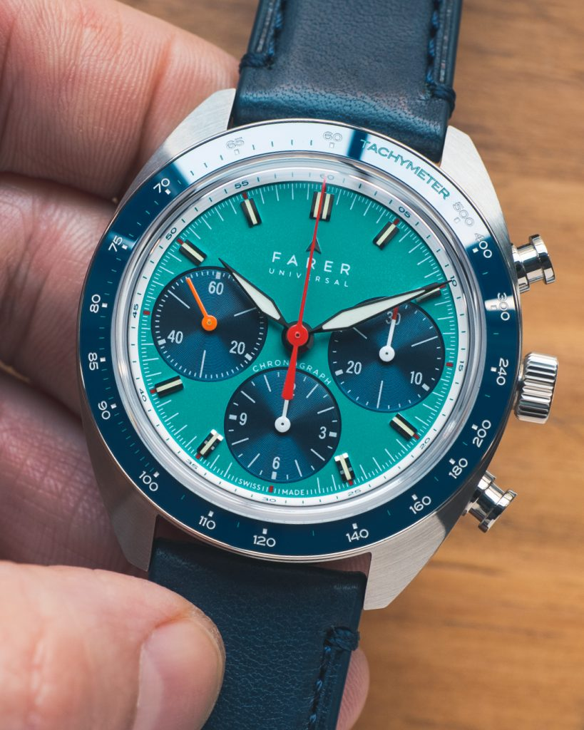 INTRODUCING: Farer's new Carnegie Chronograph Sport
