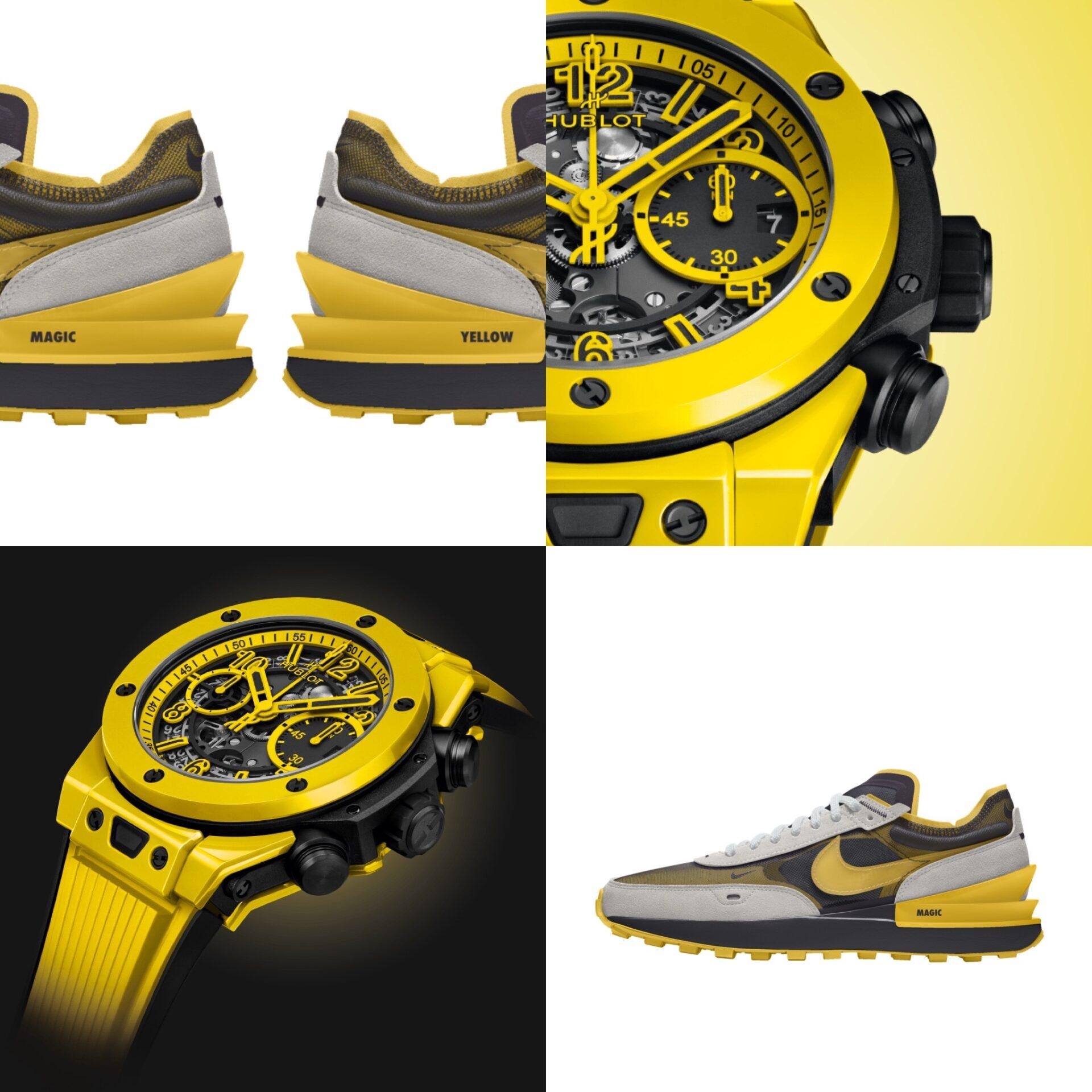 #Kixntix: The Hublot Big Bang Unico Yellow Magic is cool enough to warrant its own bespoke sneaker