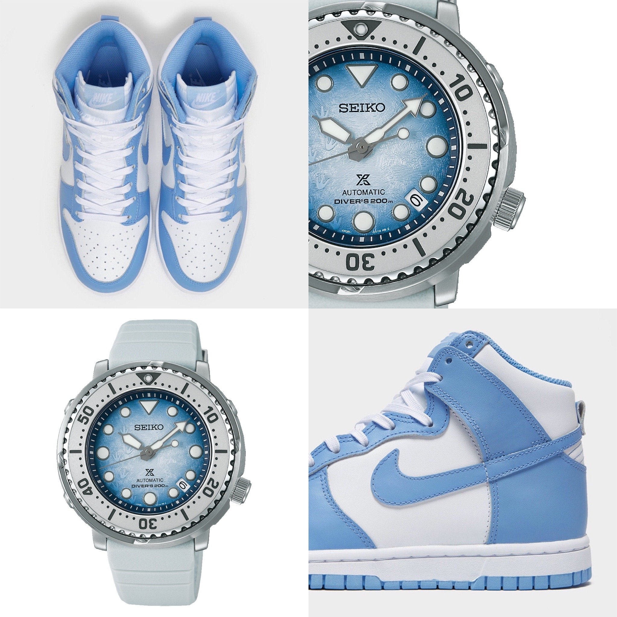 """#Kixntix: The Seiko Prospex Save The Ocean """"Antarctica"""" and the icy cool comfort of Nike Dunk Highs"""