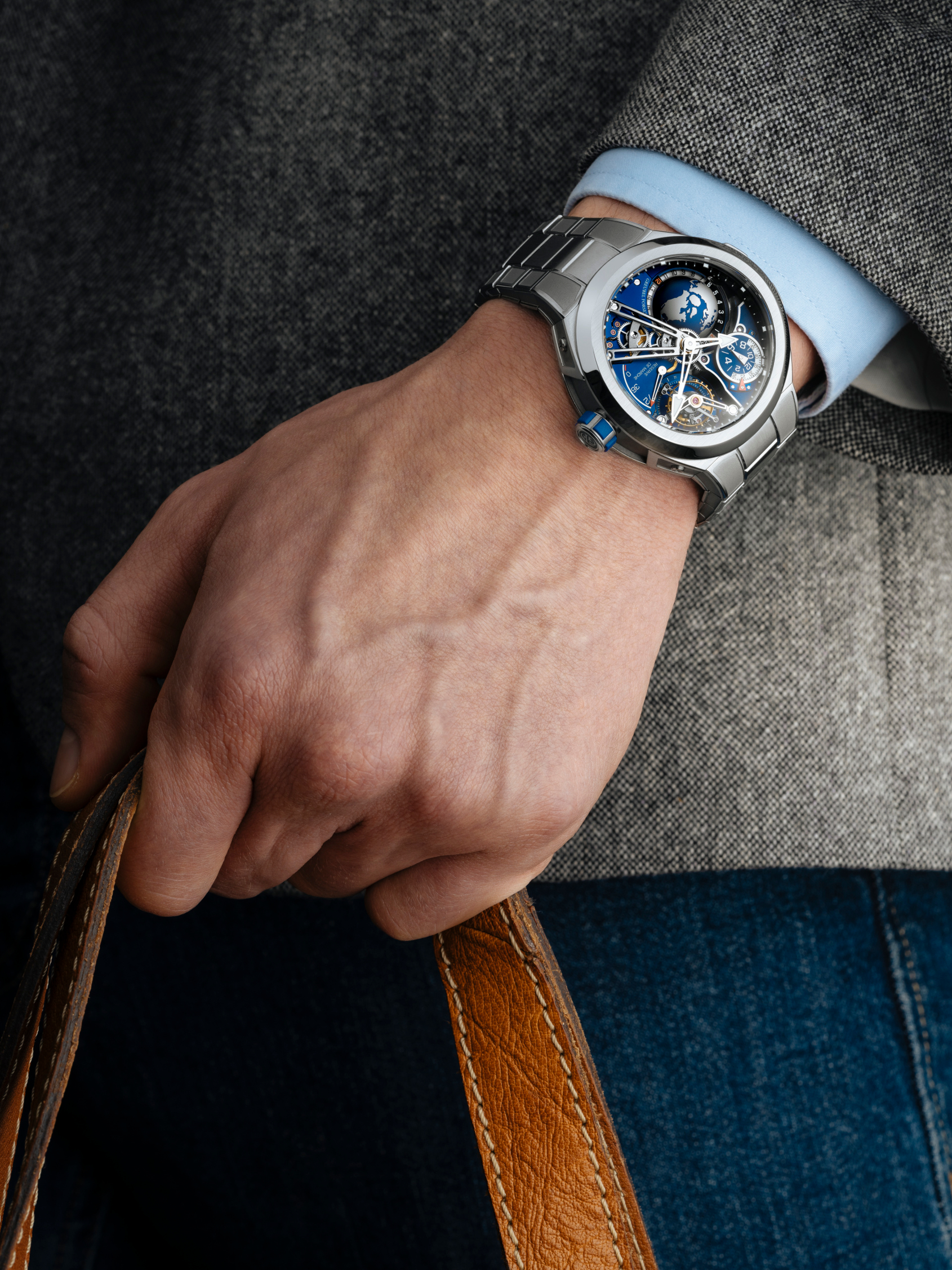 The Greubel Forsey GMT Sport shows what a sports watch costing over $500k can really do