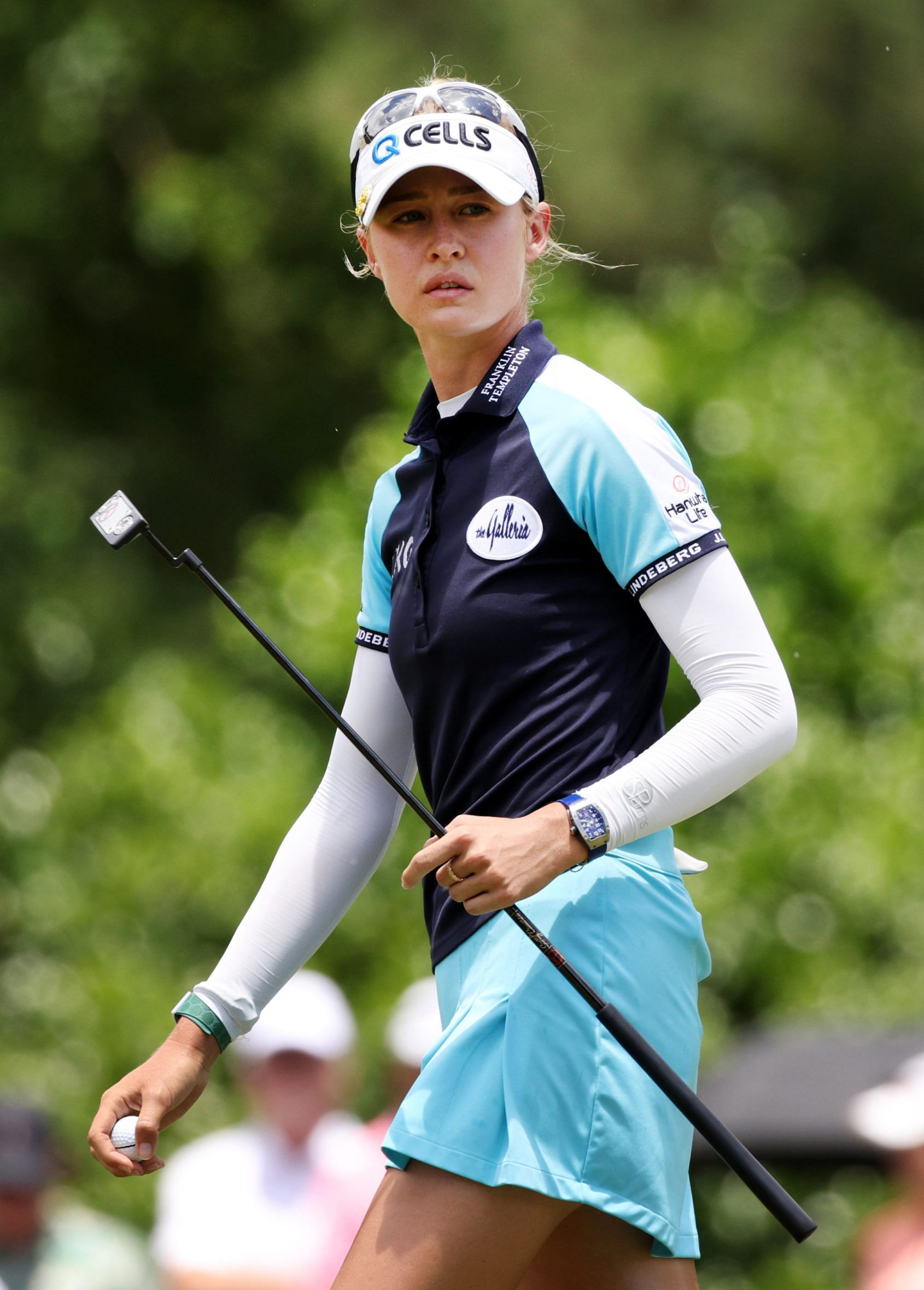 US golfer Nelly Korda rises to world #1 while wearing her Richard Mille RM 007