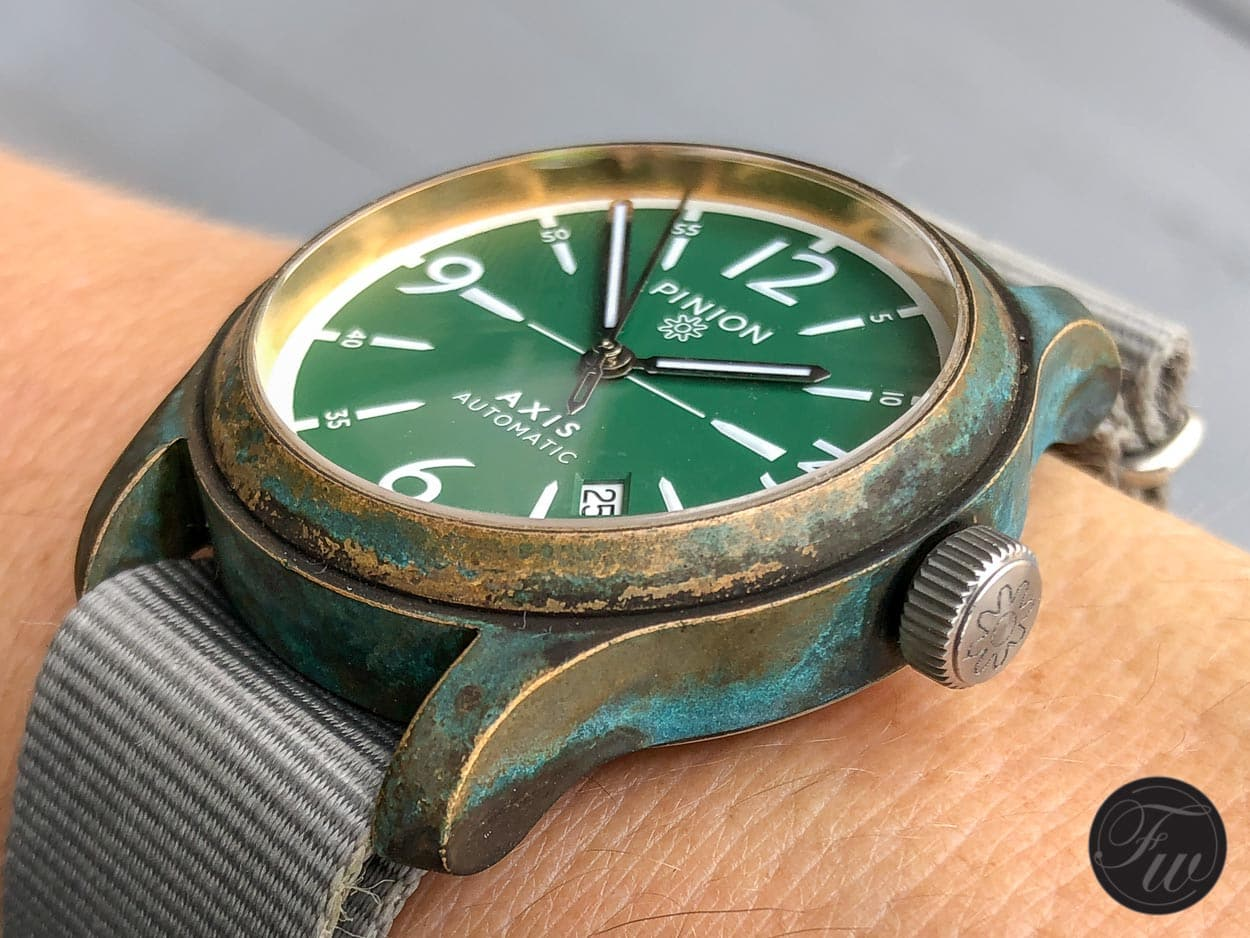 """""""It may patina, but it won't go green."""" Omega President sheds more light on Bronze Gold in our Top 5 new Omega video"""