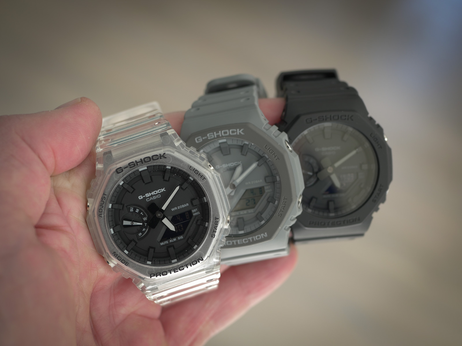 """Three shades of Casioak: Is the G-Shock GA-2100 series the """"everything"""" watch?"""