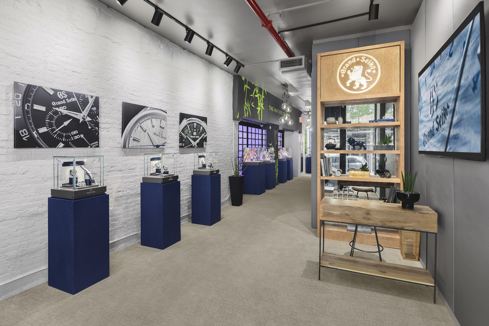 Grand Seiko opens new boutique in SoHo, NYC in partnership with Watches of Switzerland
