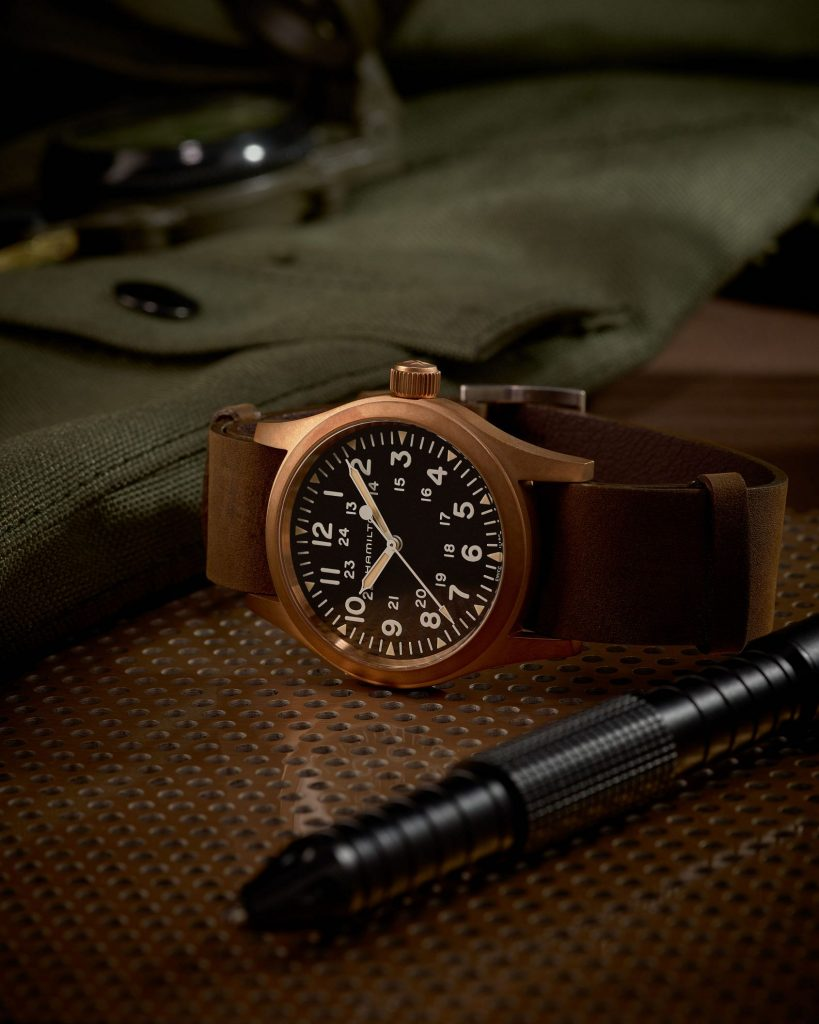 The Hamilton Khaki Field Mechanical Bronze is the best value bronze watch around