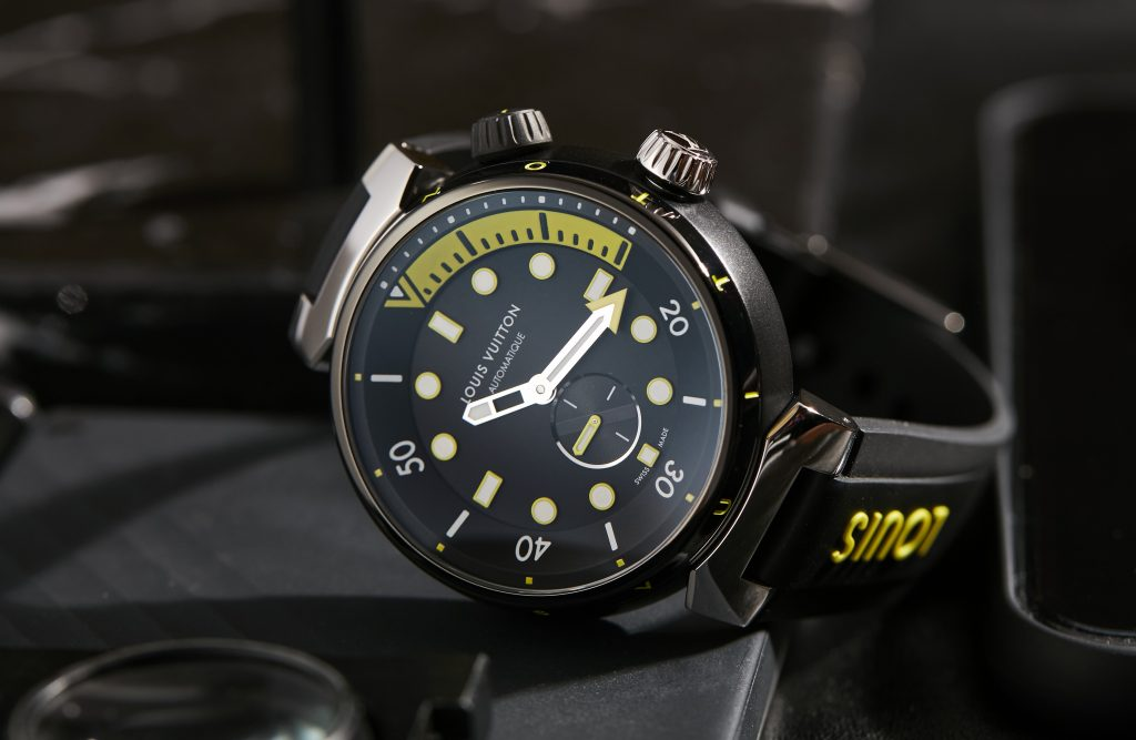 VIDEO: The Louis Vuitton Tambour Street Diver is a fashion-forward diving watch that oozes urban cool