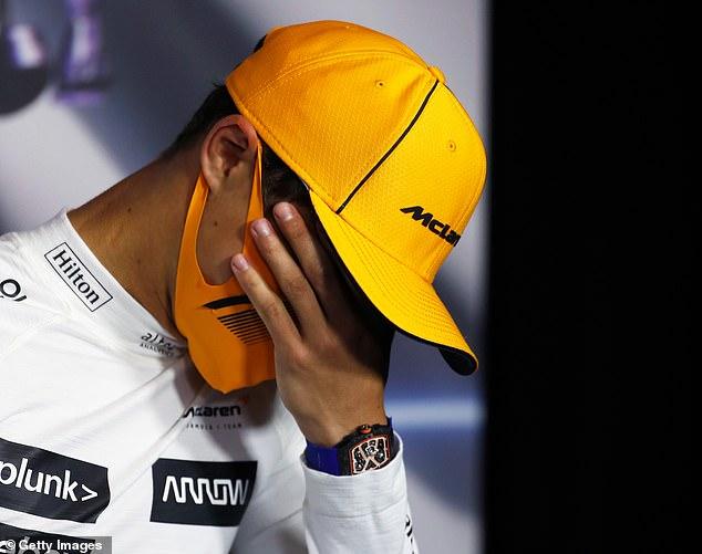 F1 driver Lando Norris robbed of £40k Richard Mille outside Wembley