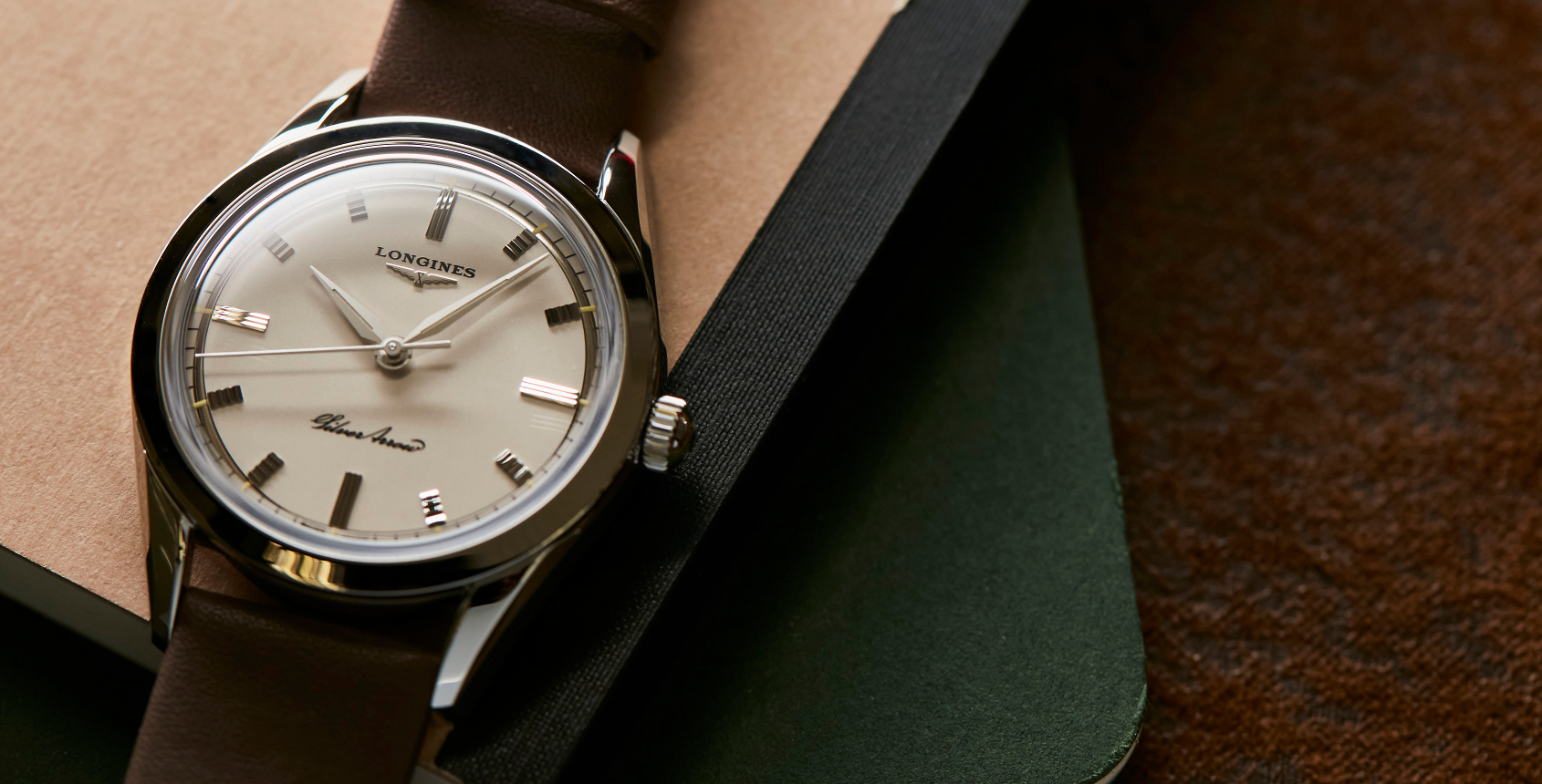 VIDEO: The Longines Silver Arrow offers '50s elegance with an architectural twist