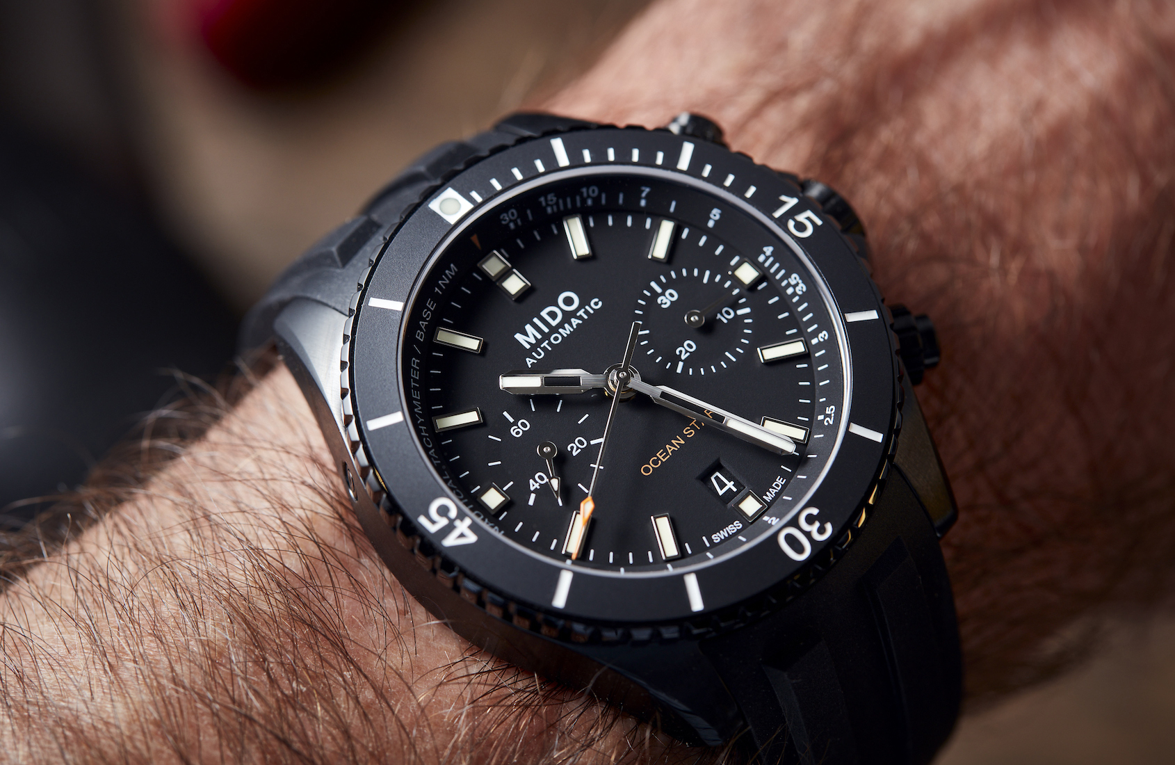 VIDEO: The Mido Ocean Star Chronograph provides twice the functionality at half the cost