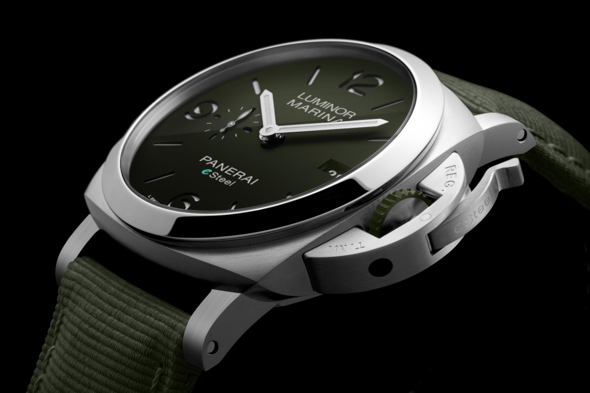 INTRODUCING: Same shape, different recycled materials. Panerai take sustainability to the next level…