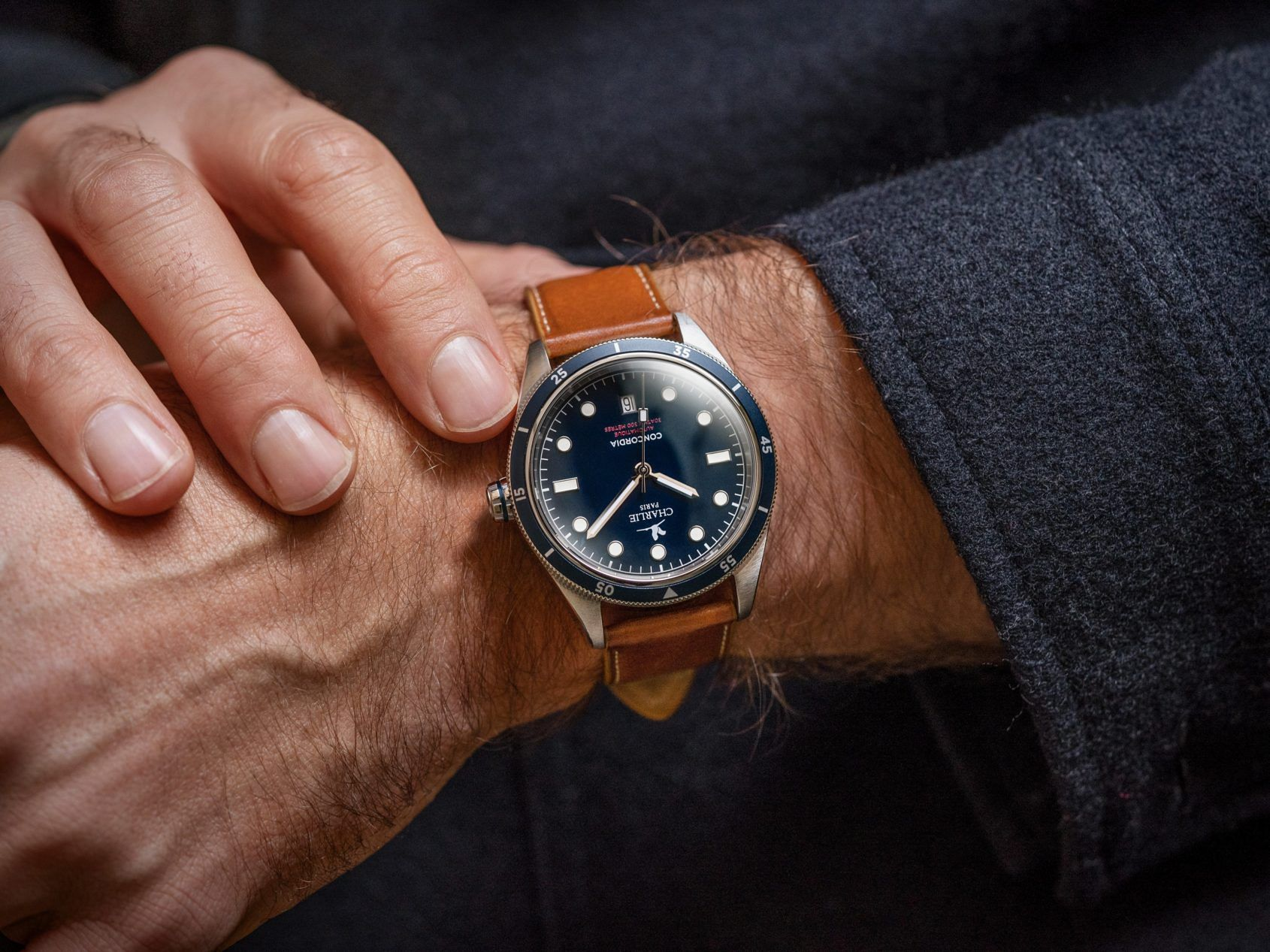 MICRO MONDAYS: The Charlie Paris Concordia Automatic offers vintage style tested in Antarctic blizzards