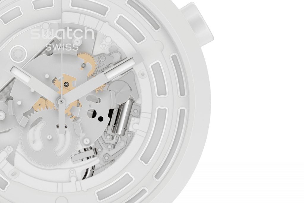 Cheap Bastard: The Swatch Bioceramic C-White is an oversized bargain that's eco-friendly, too