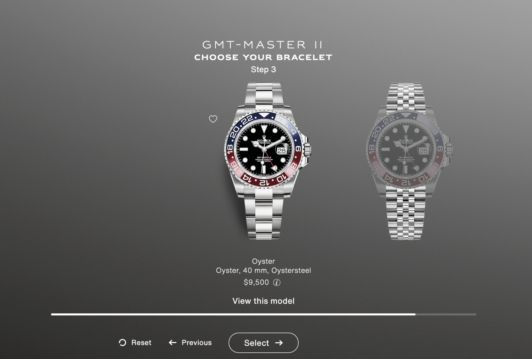 The sleeper Rolex story is that the Batman and Pepsi are back on Oyster and Sky-Dweller is available on Jubilee