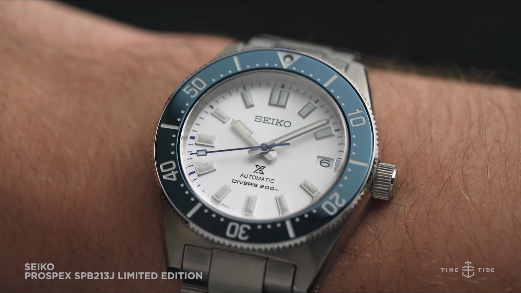 VIDEO: The Seiko Prospex SPB213J1 140th Anniversary is a super-crisp modern diver