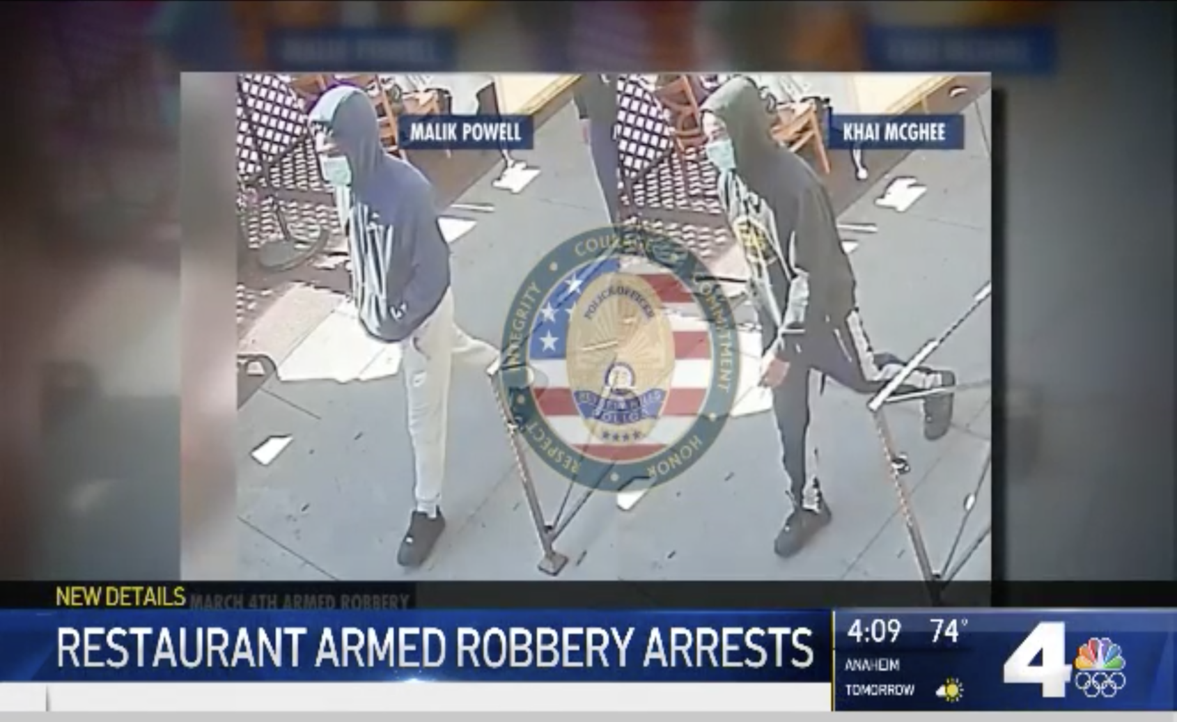 Three men apprehended for robbery of a Richard Mille RM 11-03 in Beverly Hills